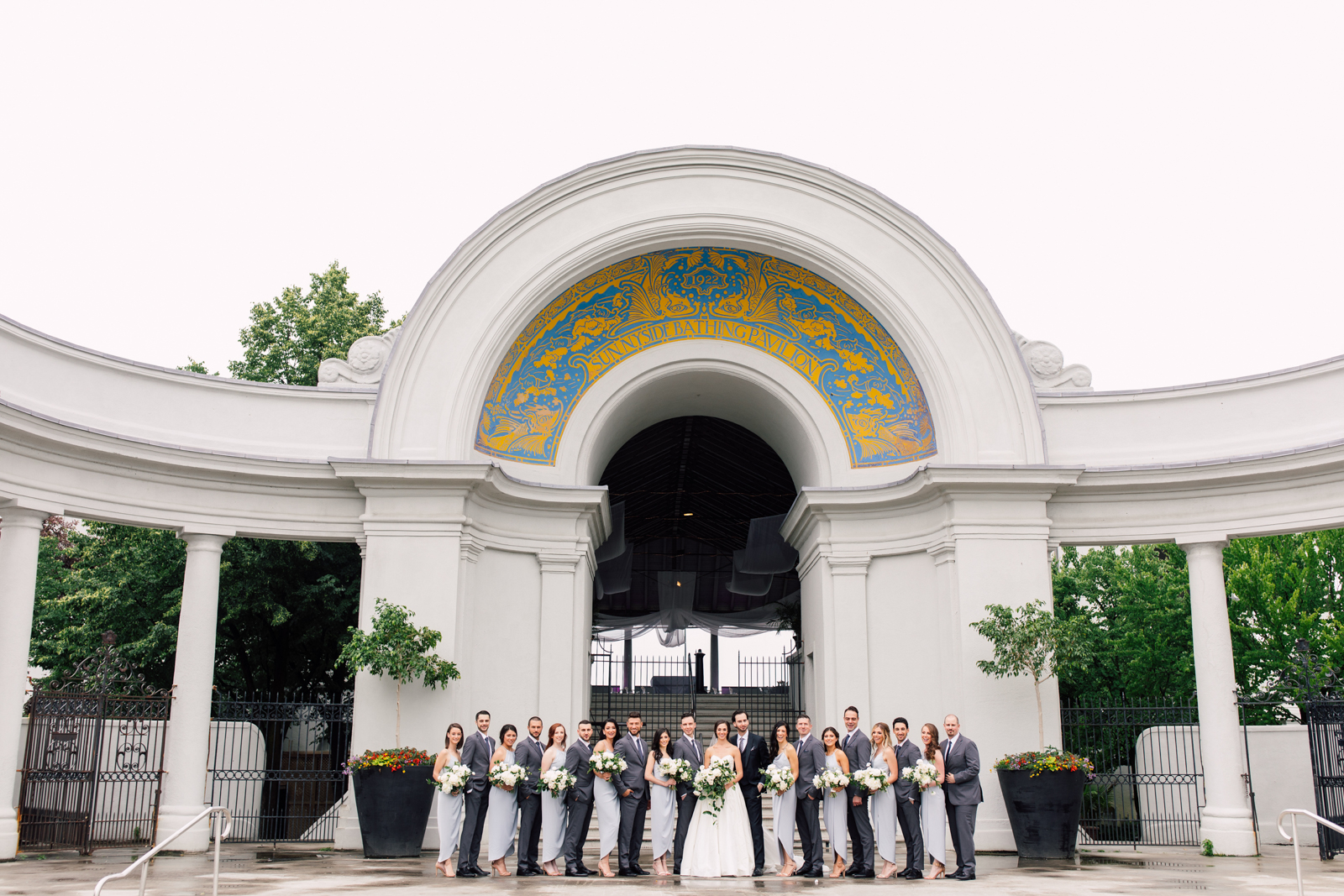 sunnyside pavilion bridal party