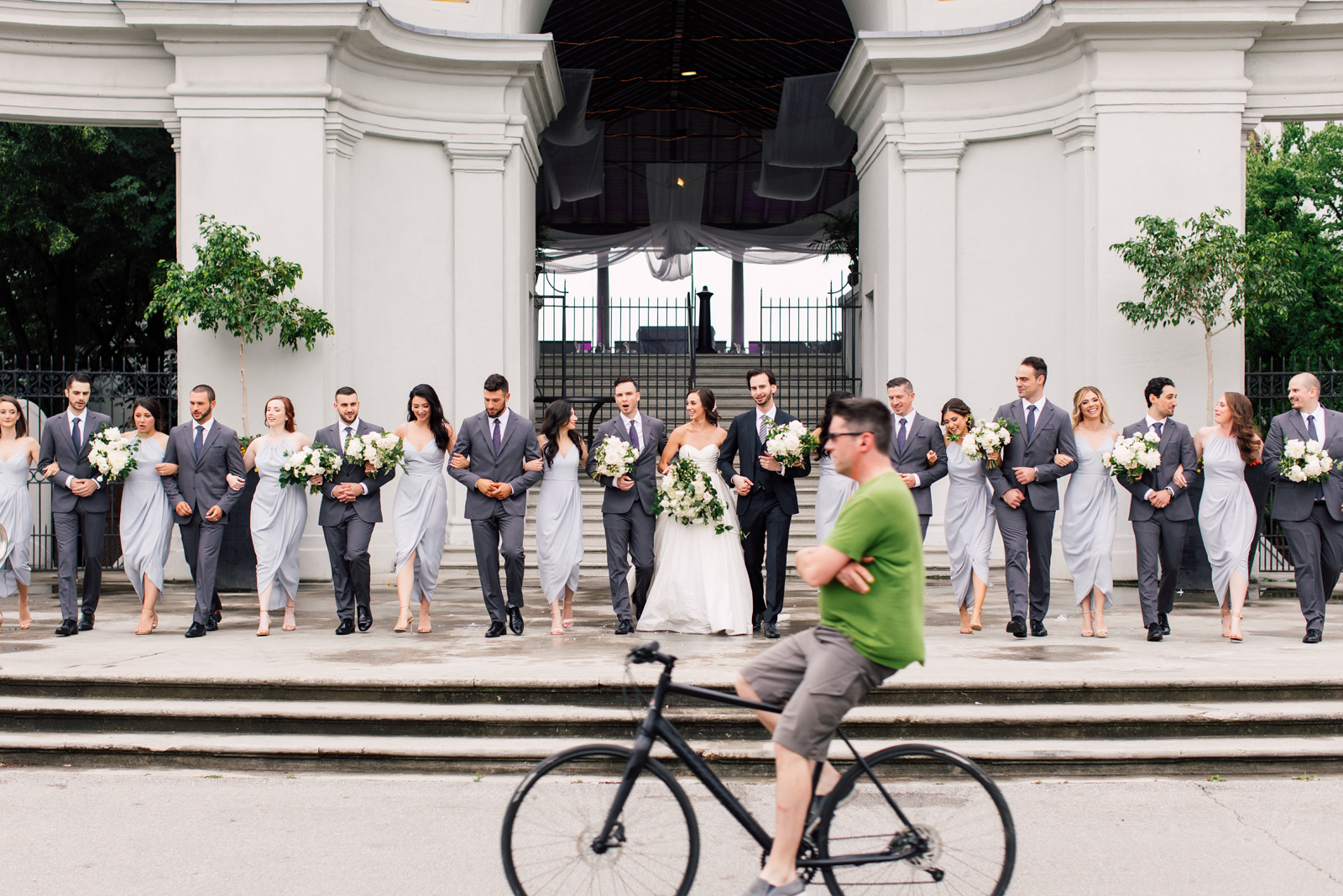 urban bridal party