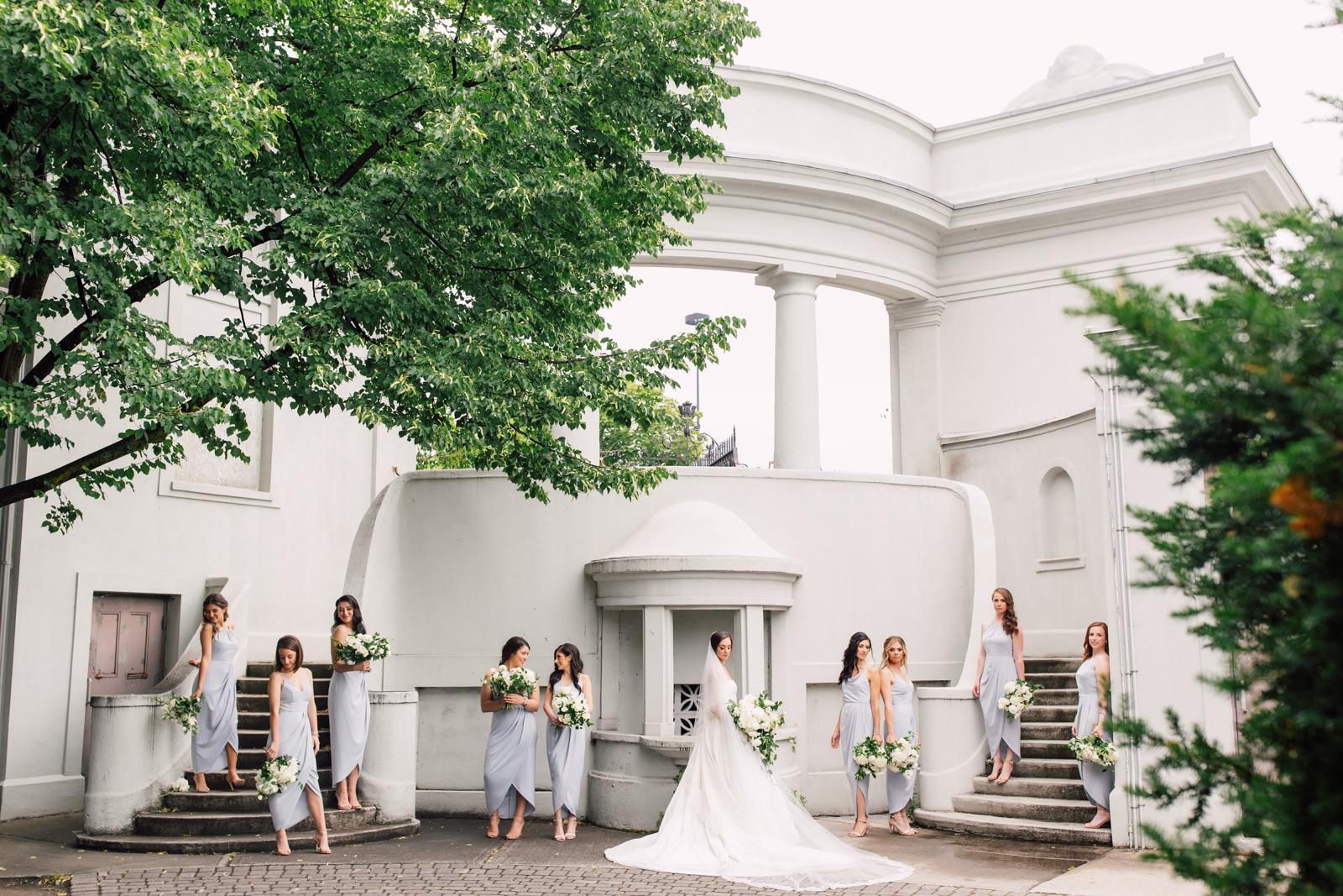 sunnyside pavilion bridesmaids