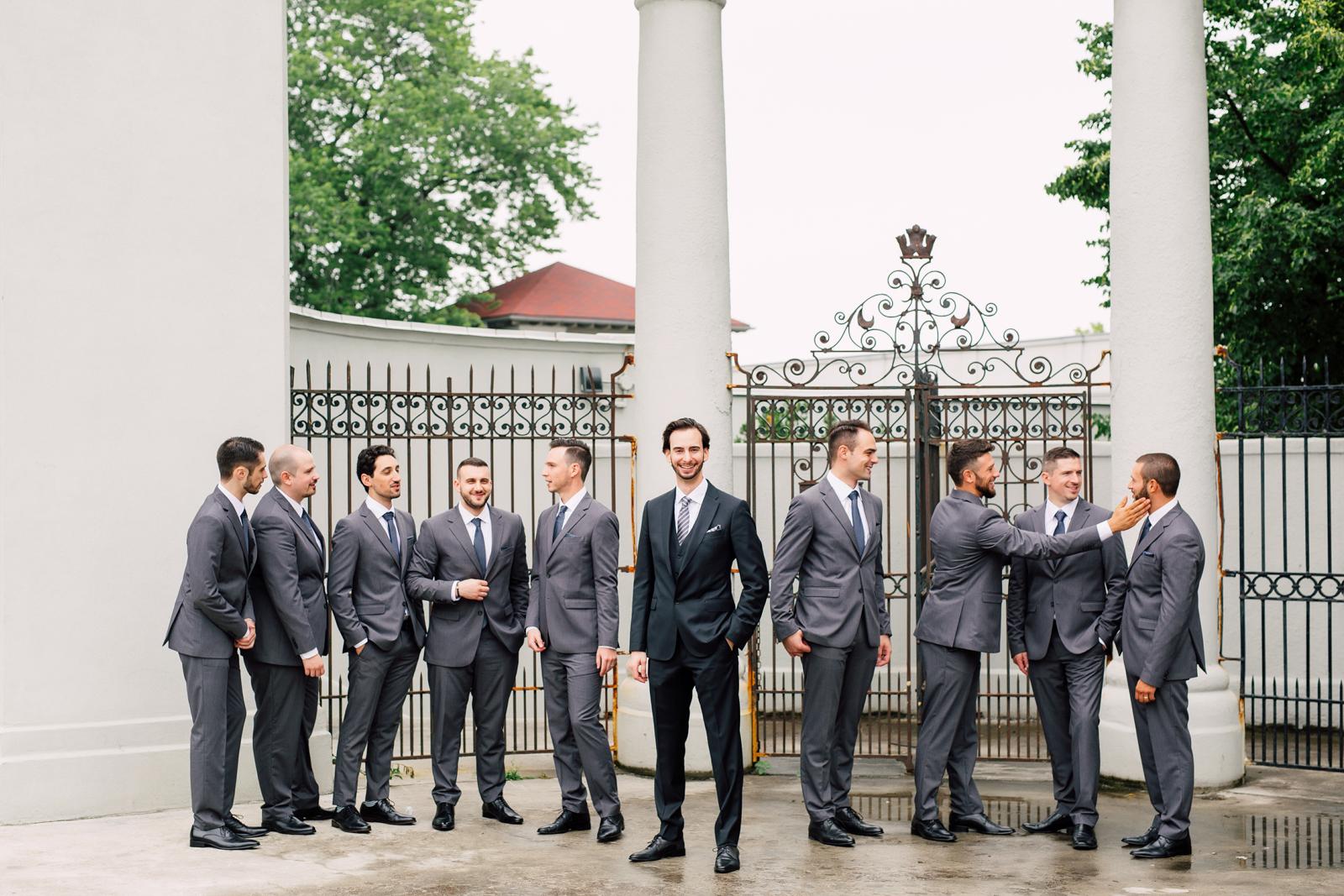 sunnyside pavilion groomsmen