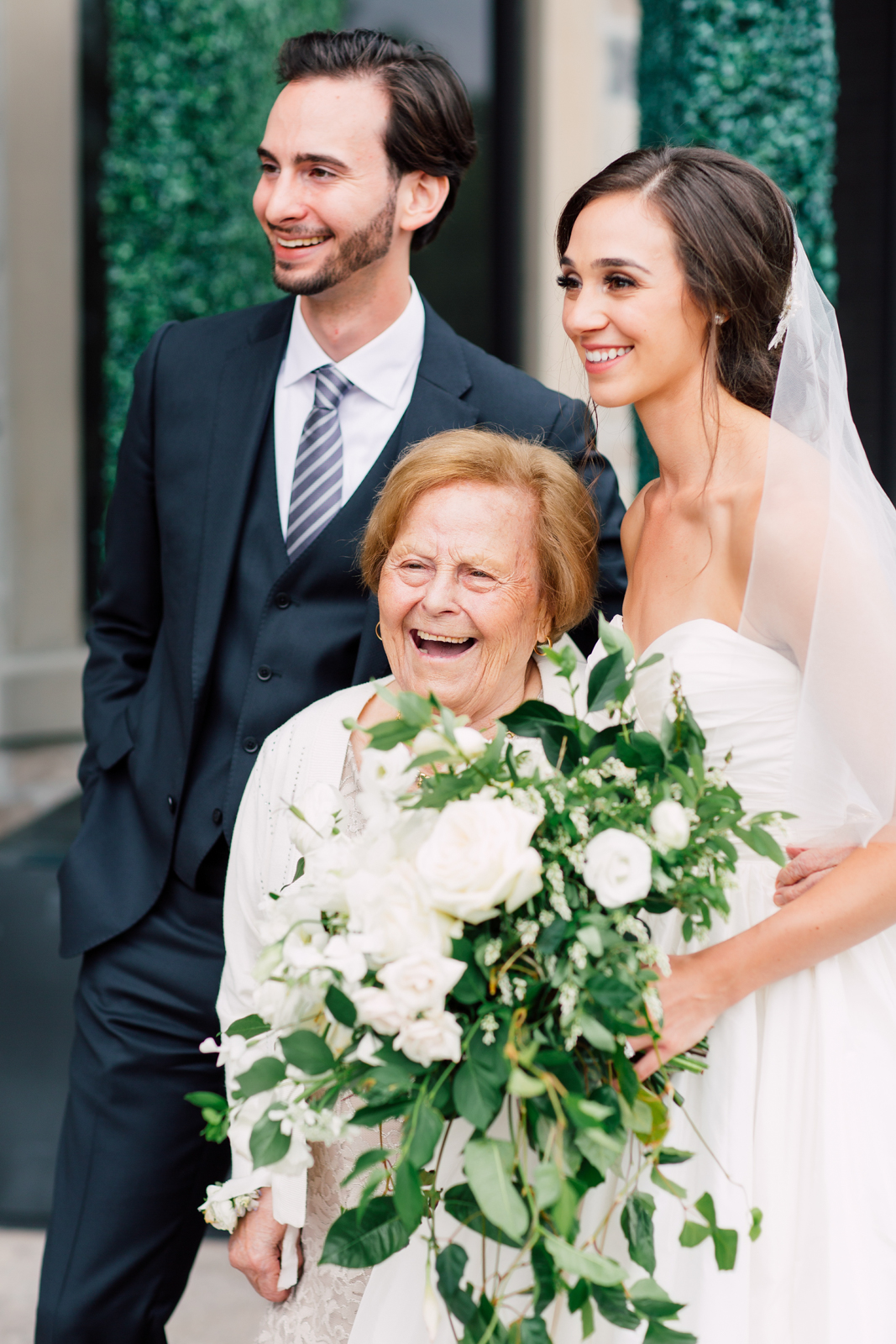 wedding grandma