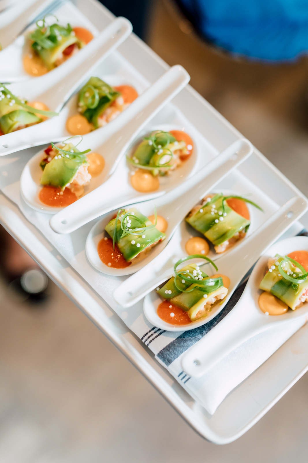chase seafood canapes