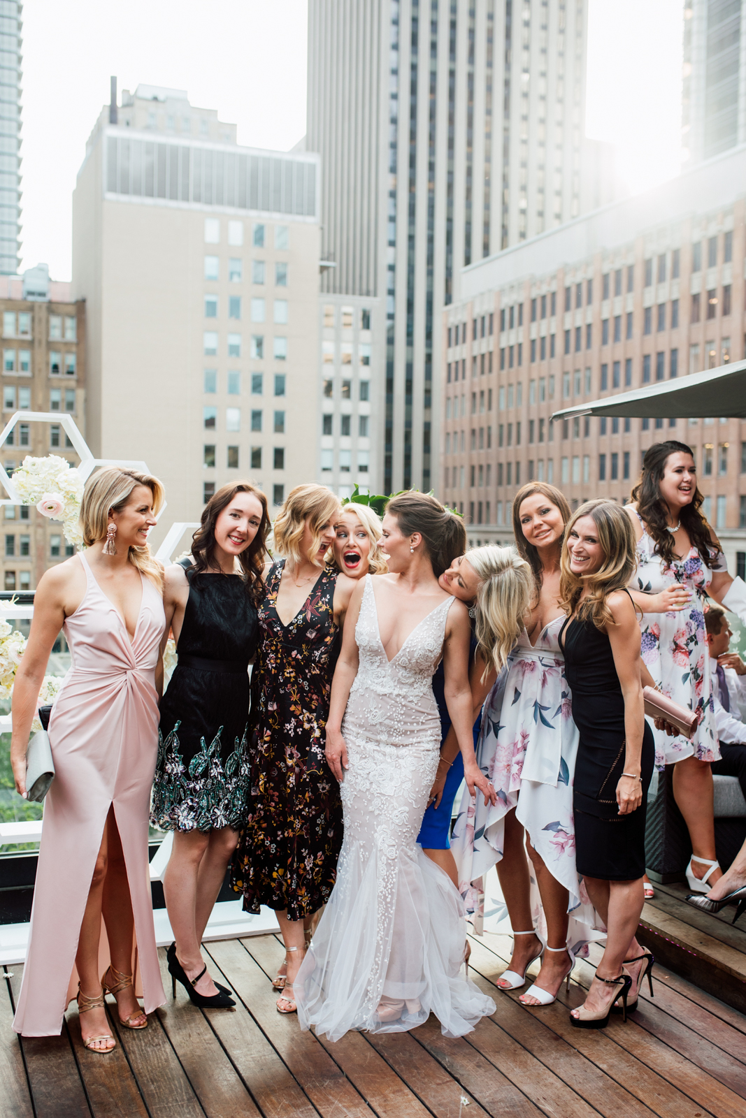 toronto rooftop wedding