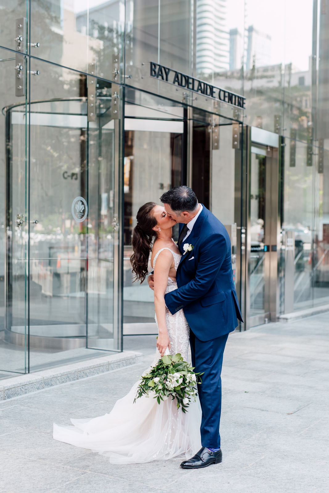 urban toronto wedding