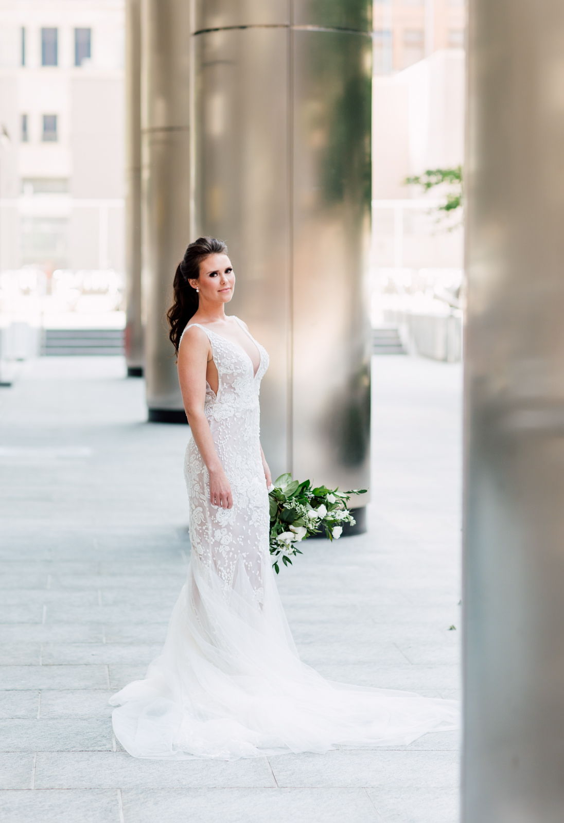 leah de gloria bridal gown