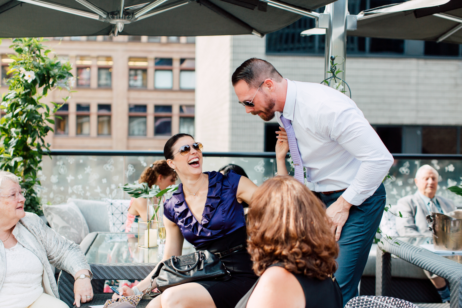 rooftop toronto wedding