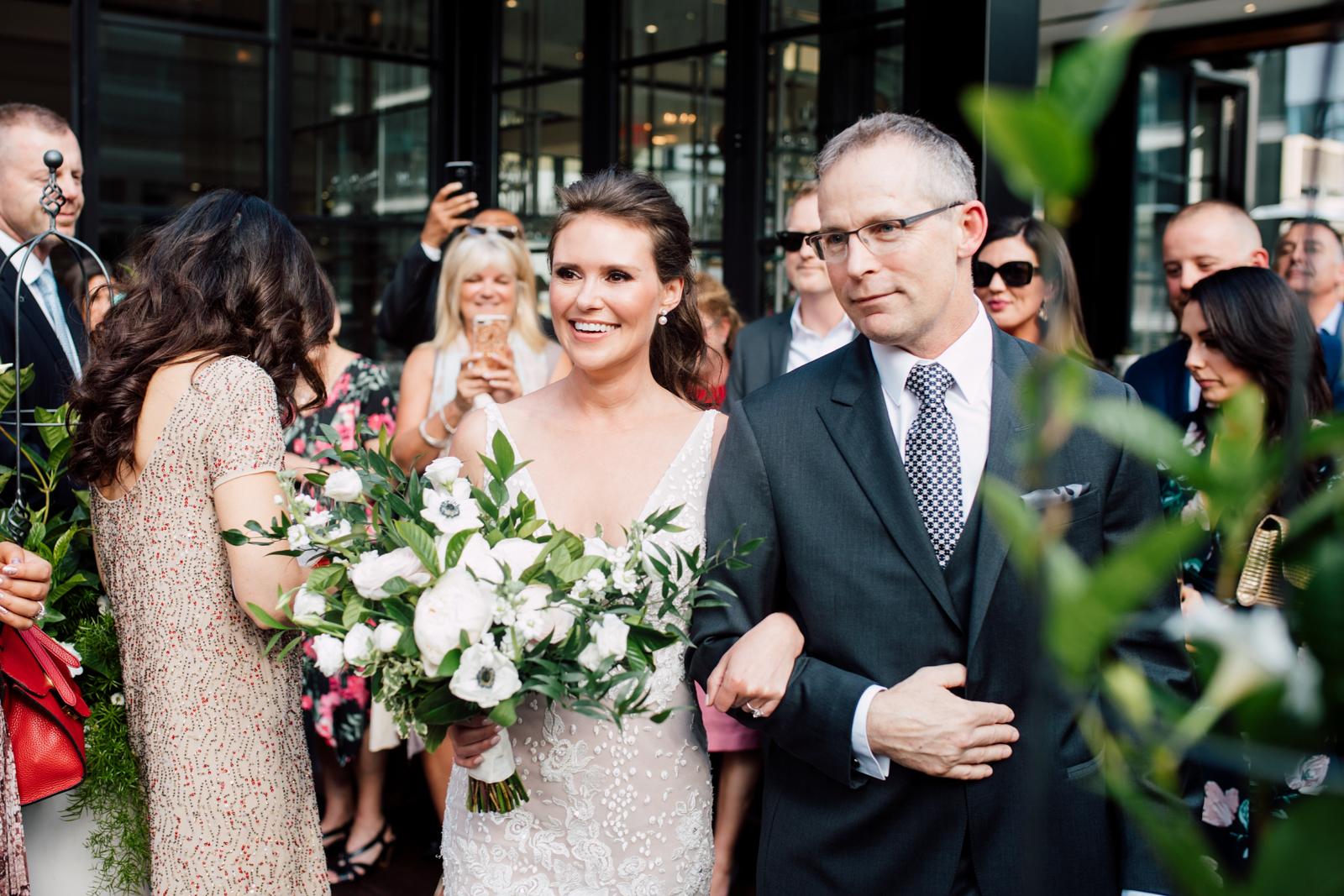 a petal or two bride