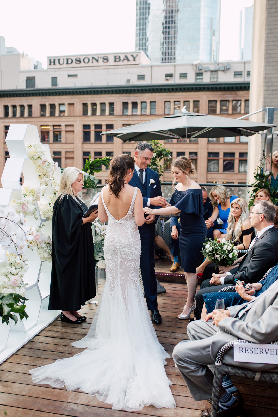 toronto terrace wedding