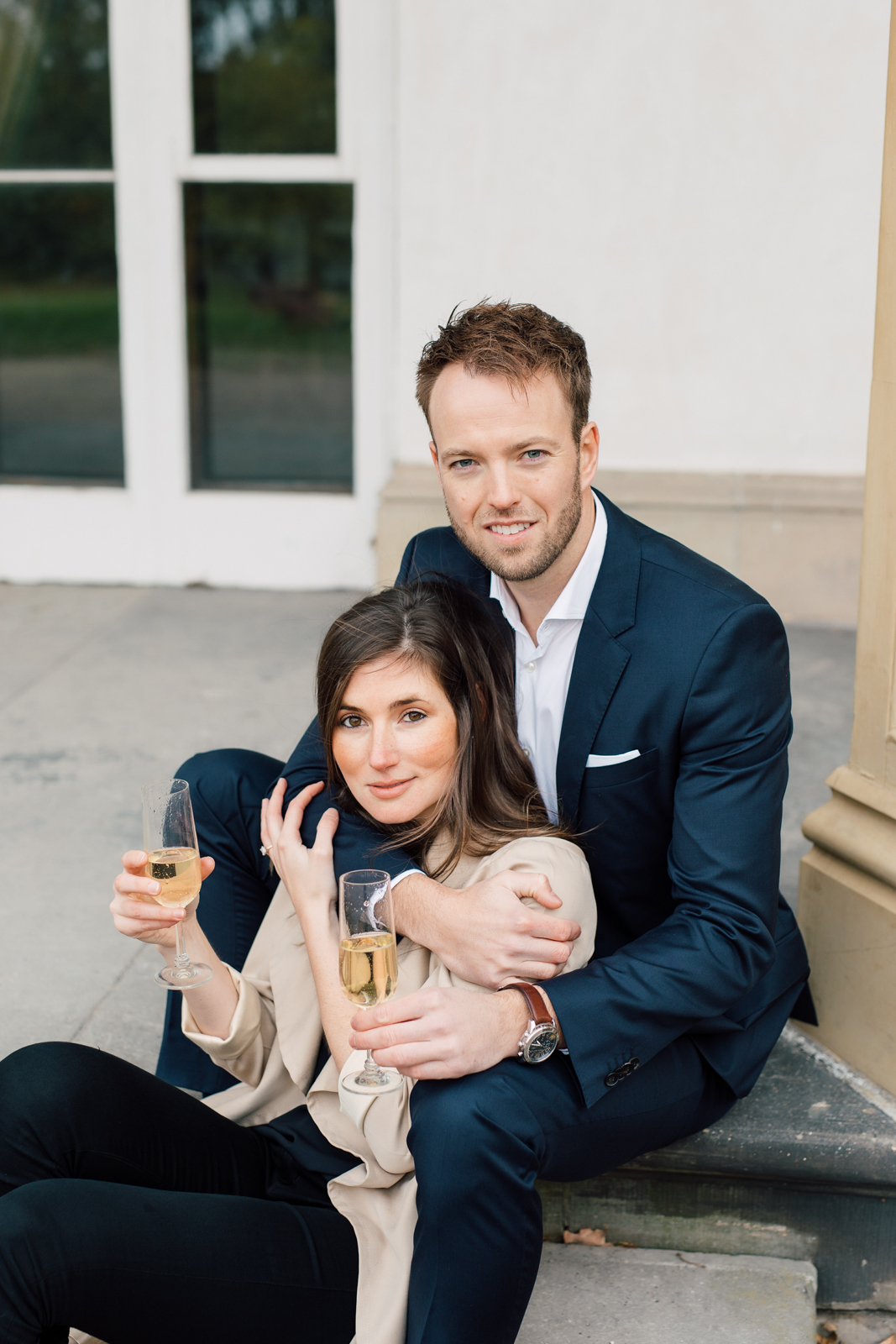 champagne engagement