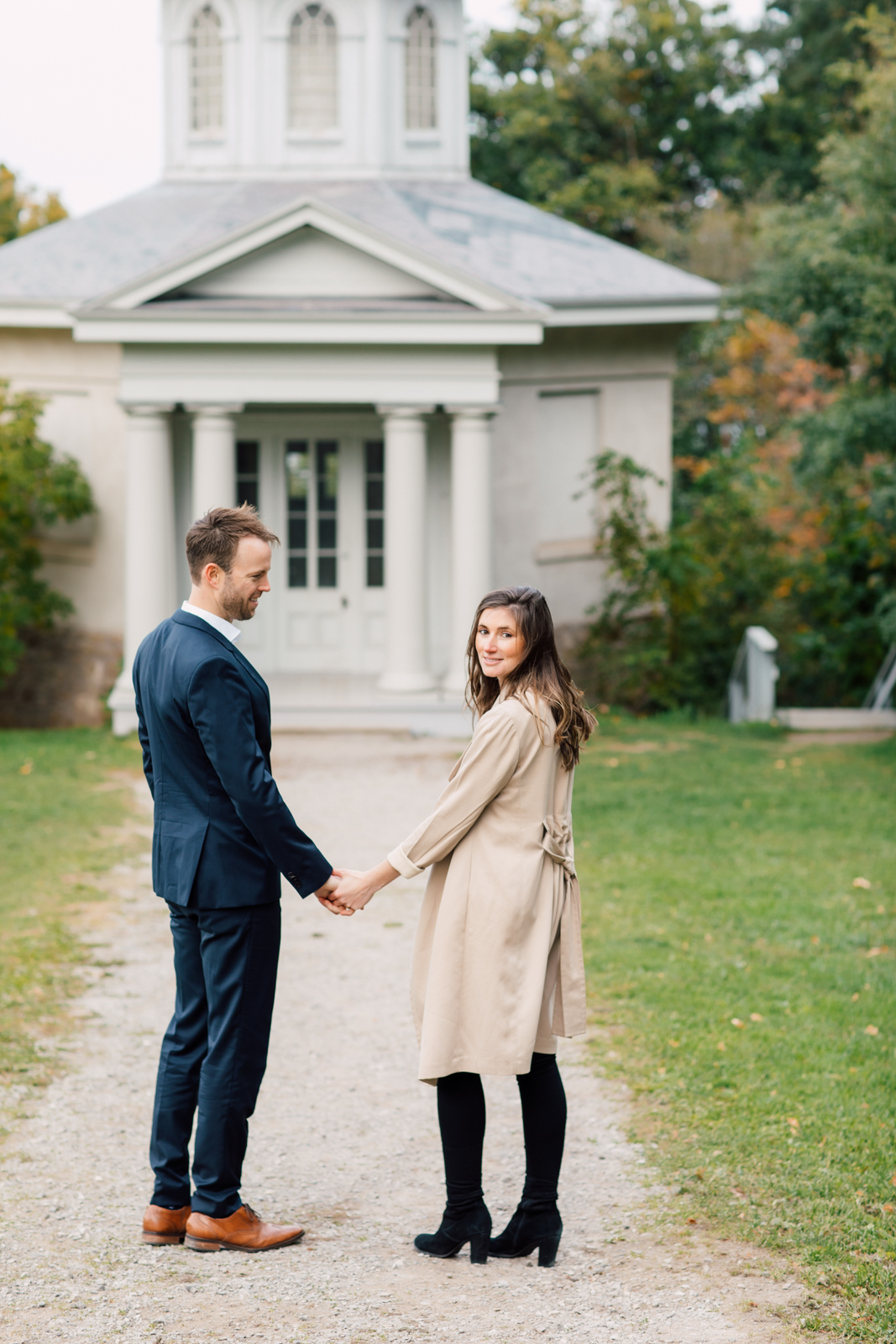 autumn engagement