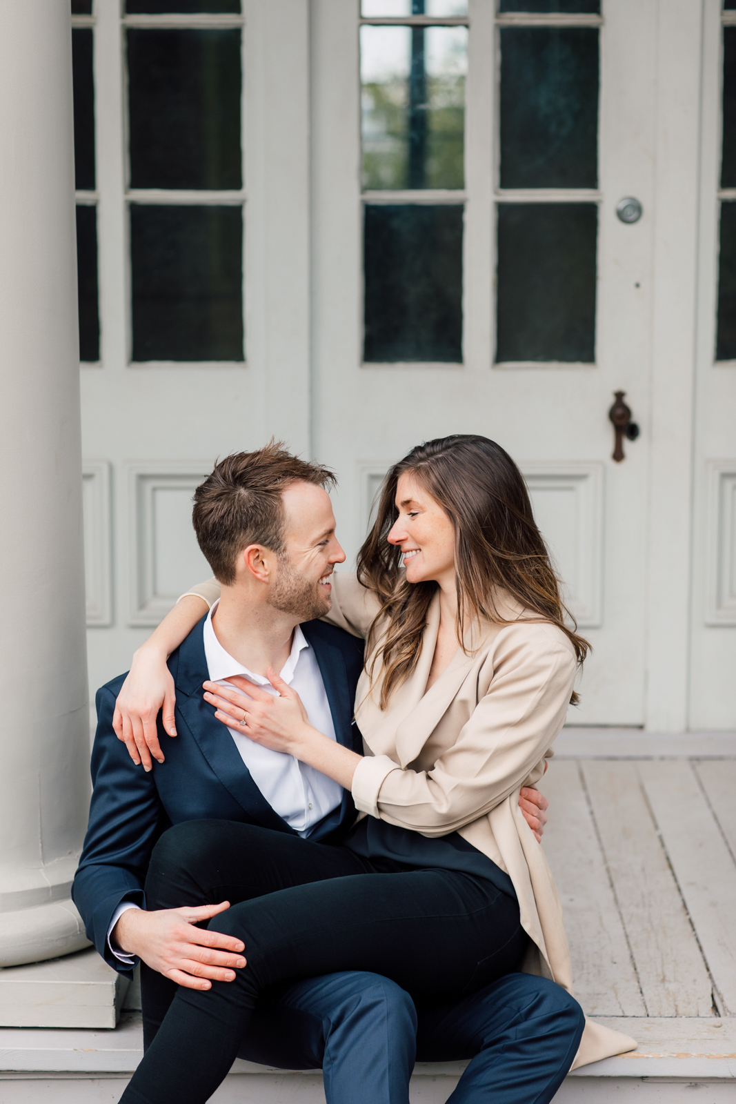 elegant engagement photography