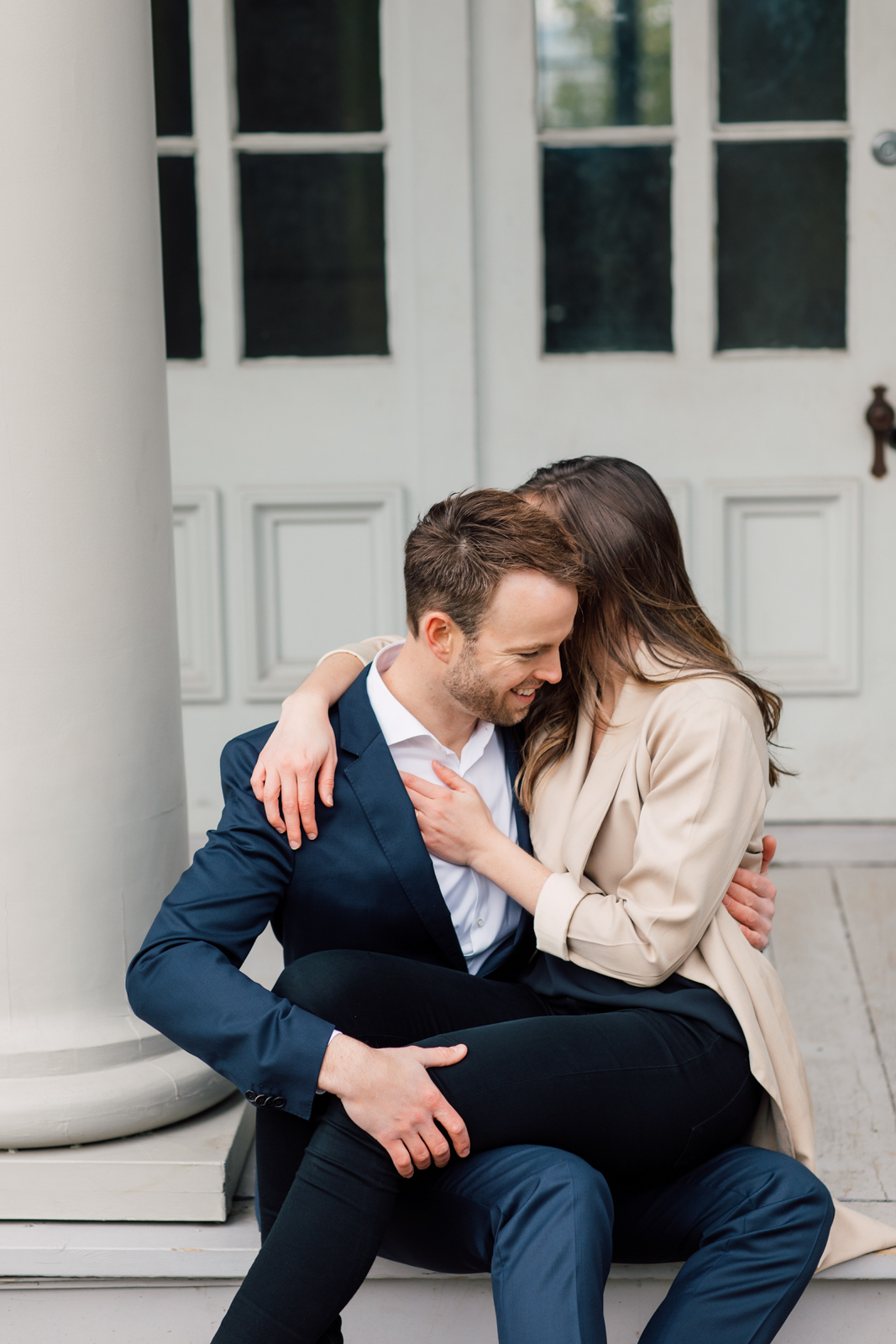 intimate engagement photography
