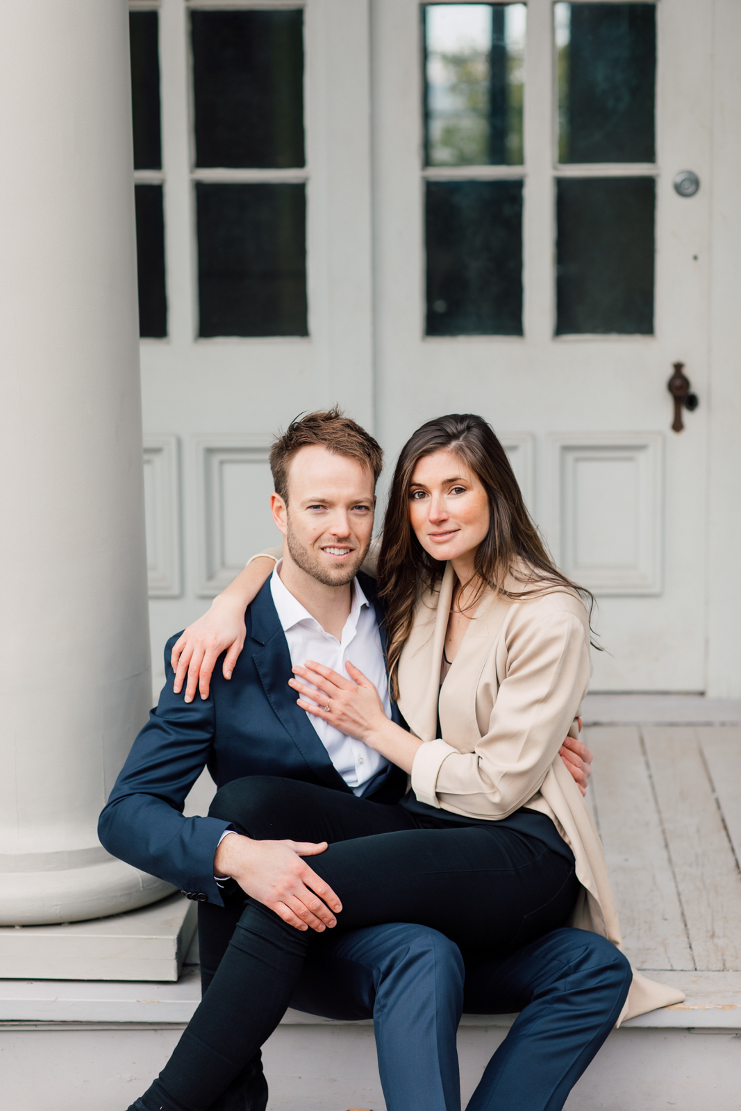 neutral engagement photography
