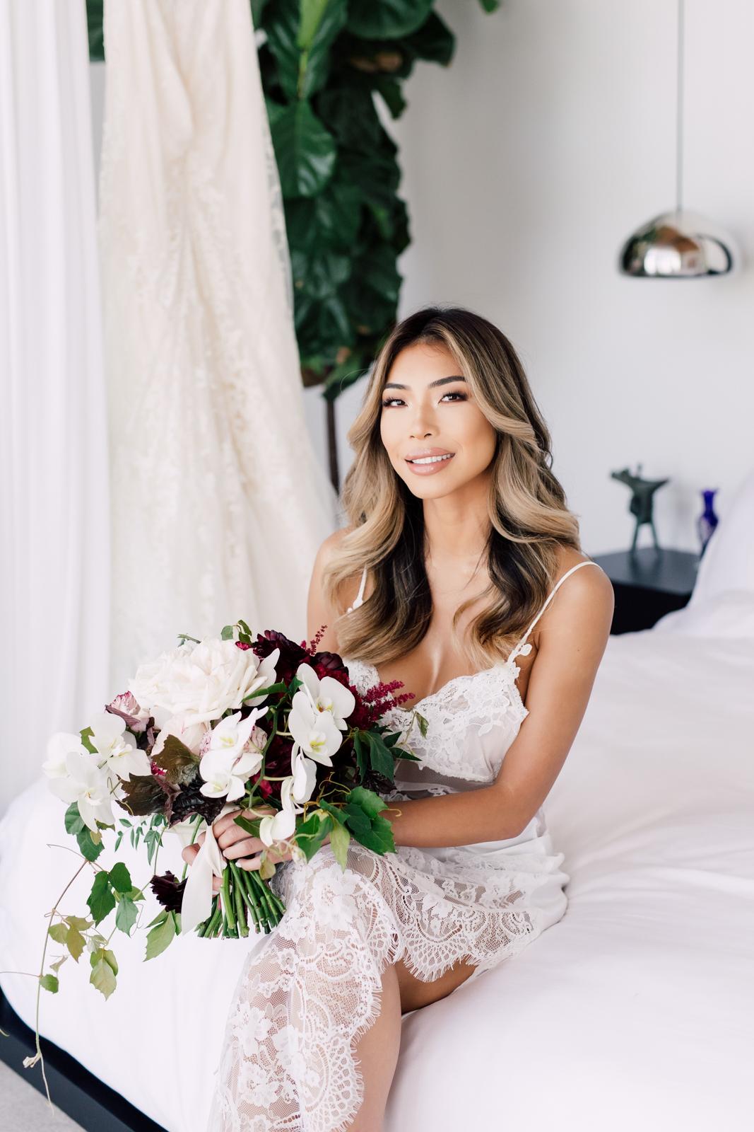Stemz bridal bouquet