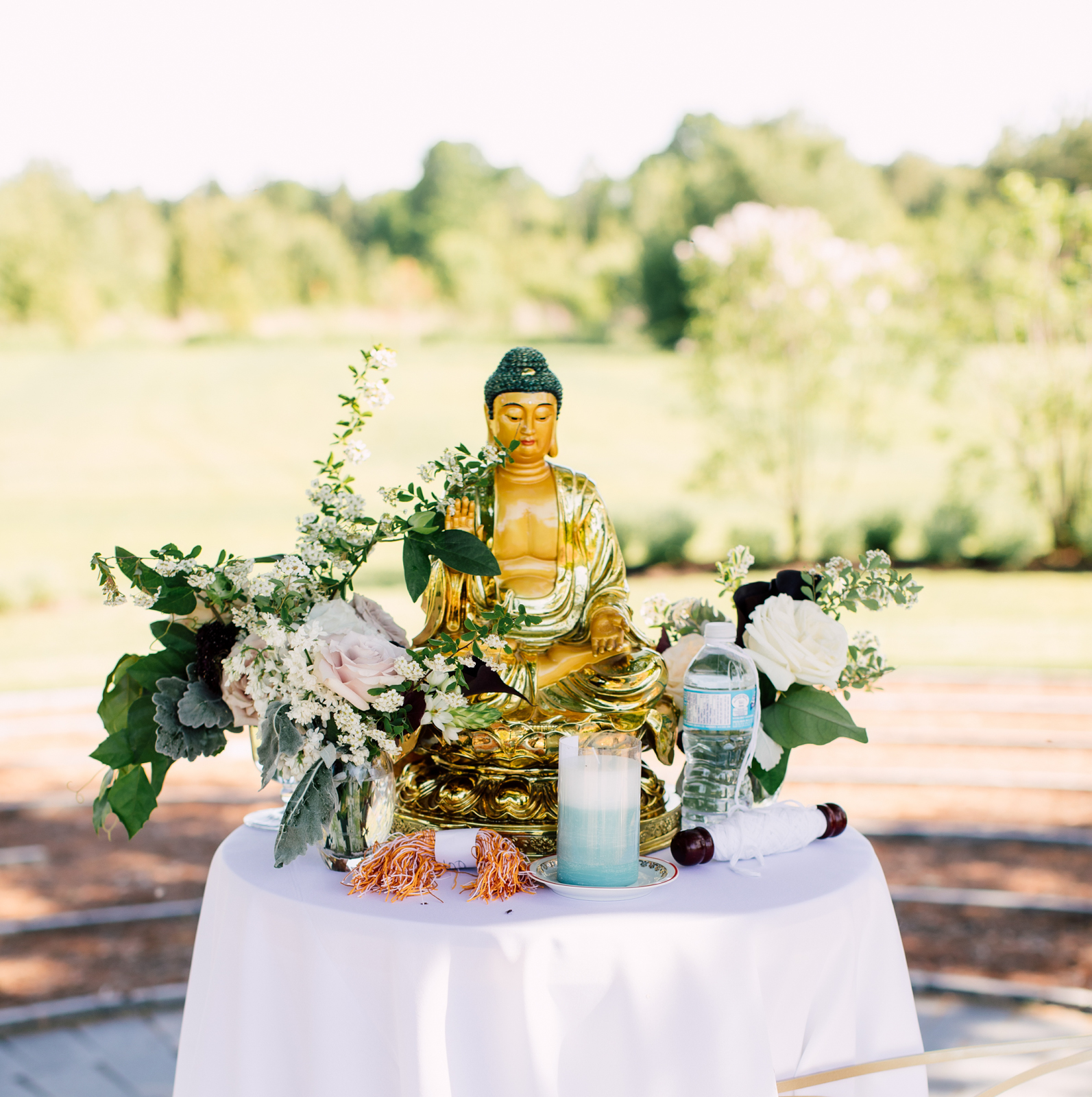 Wedding buddha
