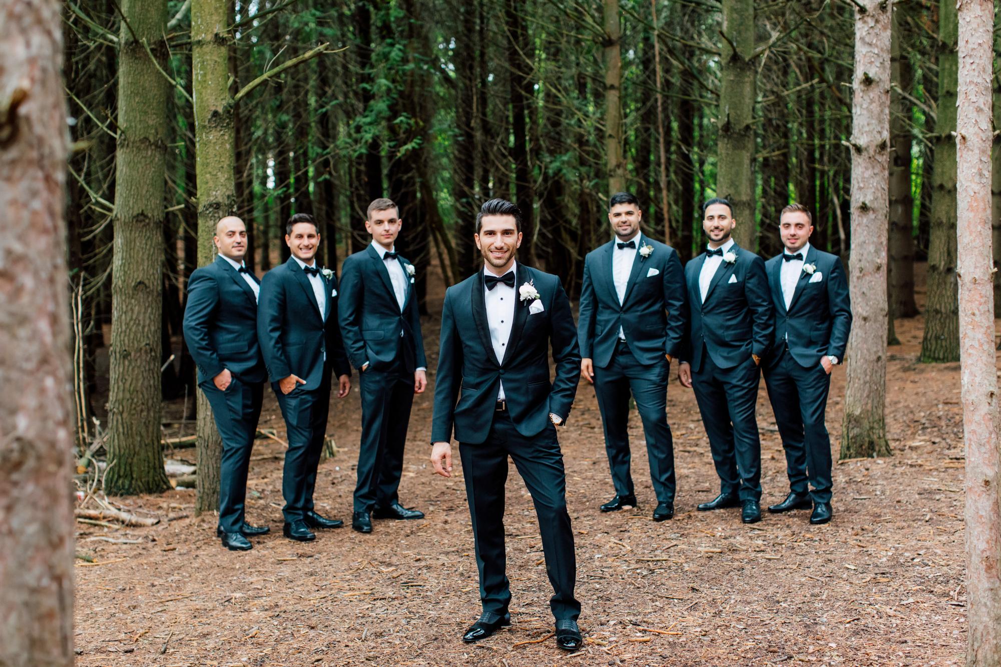 tuxedo kortight wedding