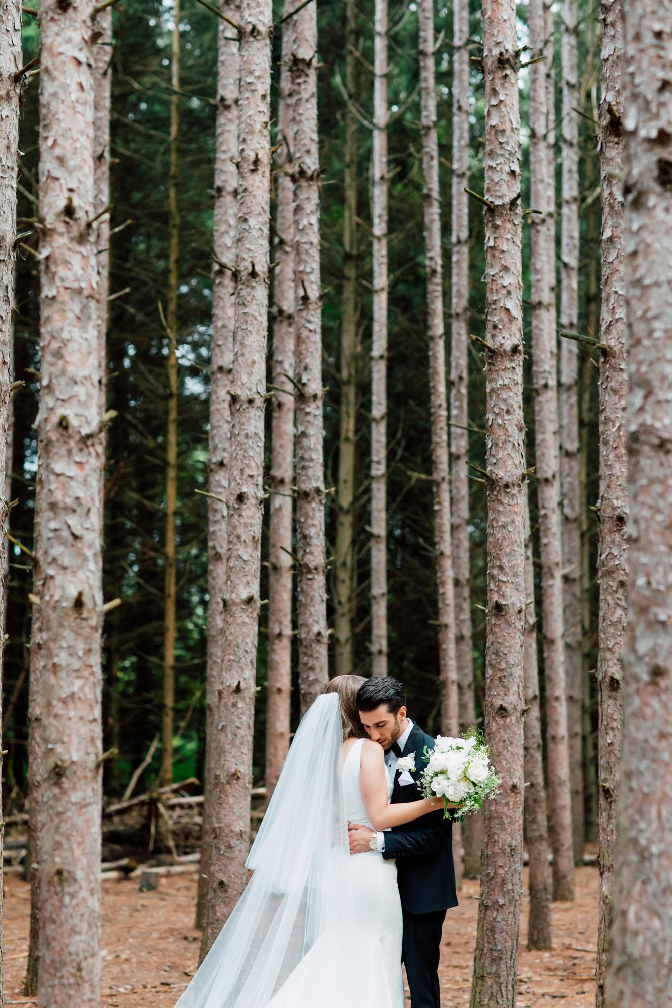 kortright wedding portraits