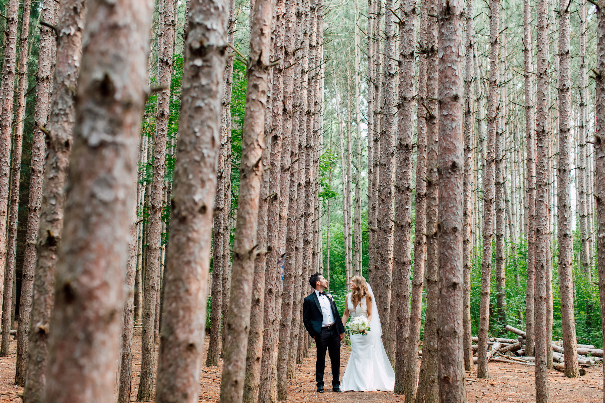 kortright bride and groom