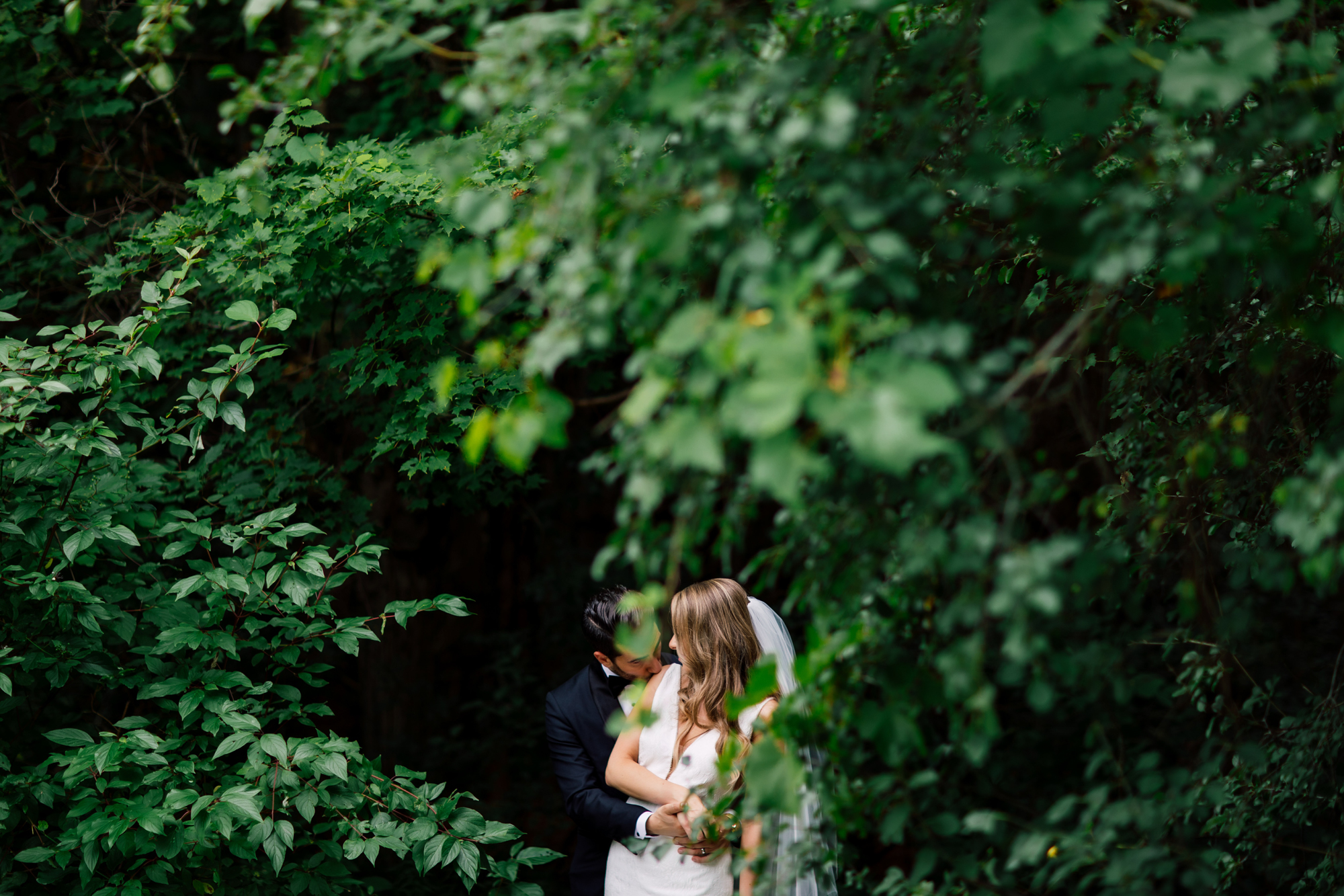 kortright greenery wedding