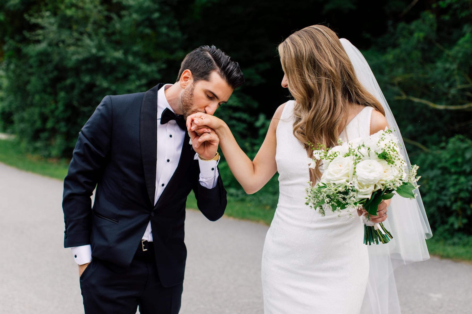 heartfelt wedding portraits