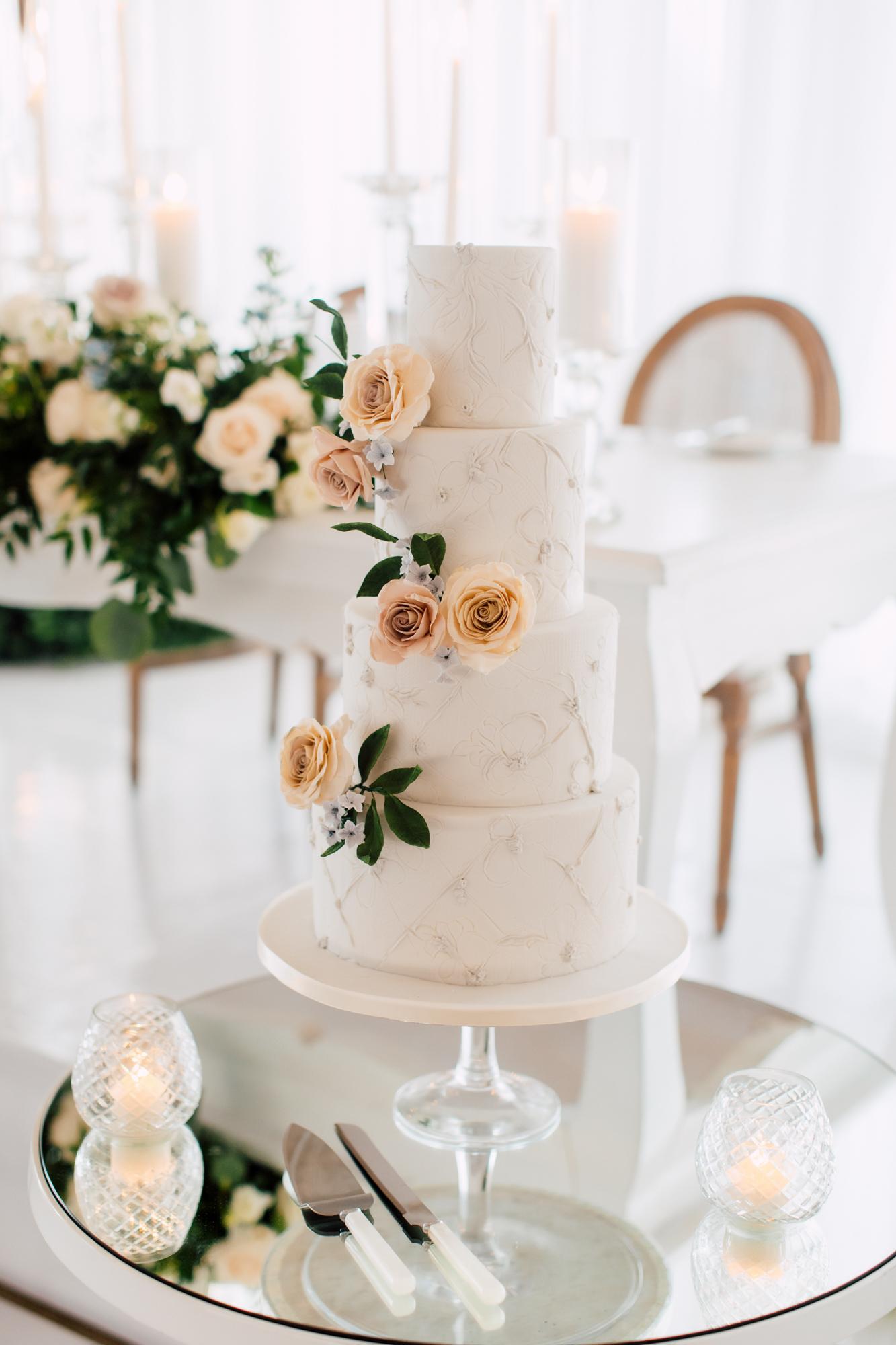 nadia and co wedding cake