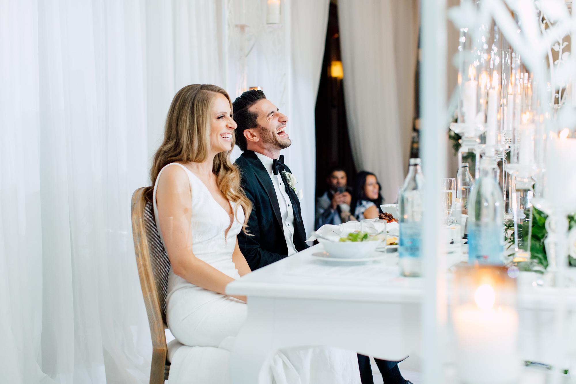 laughing groom speech