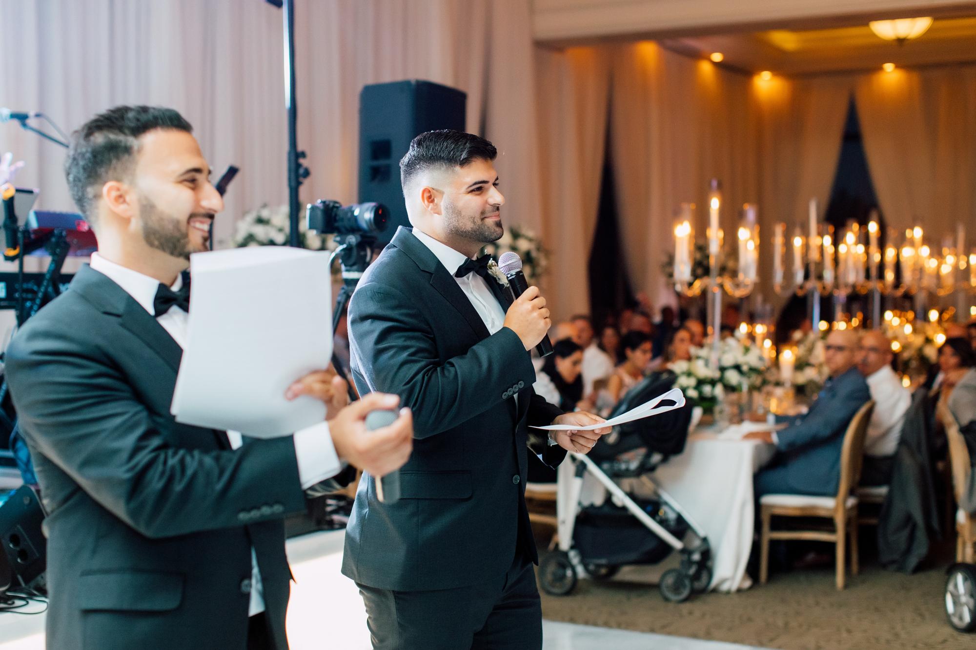groomsmen speeches