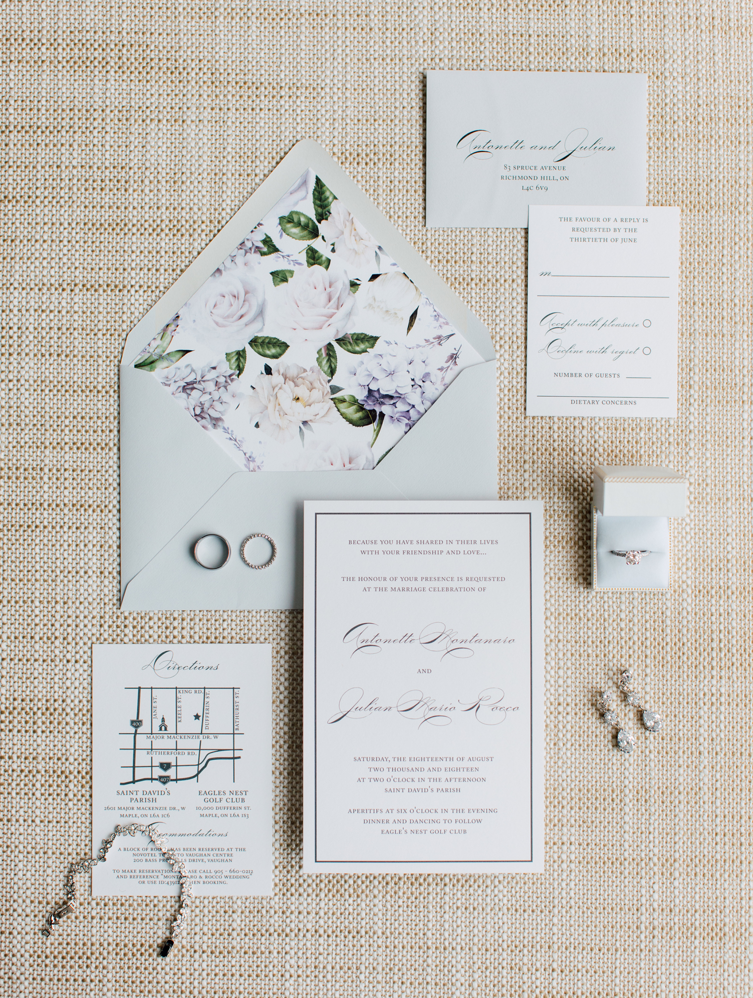 paper damsels wedding