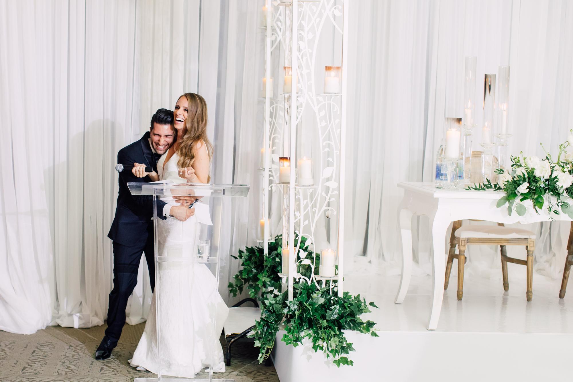 candid wedding speech