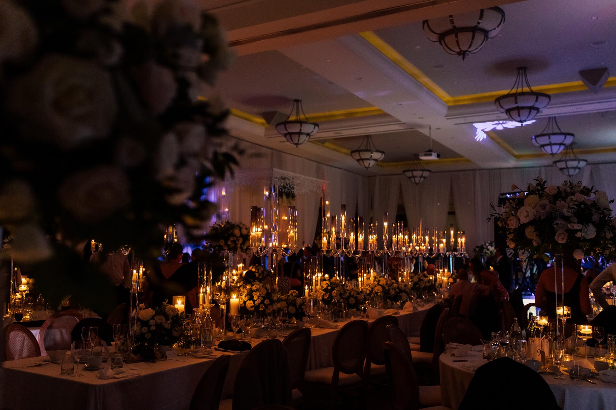 eagles nest candlelit wedding