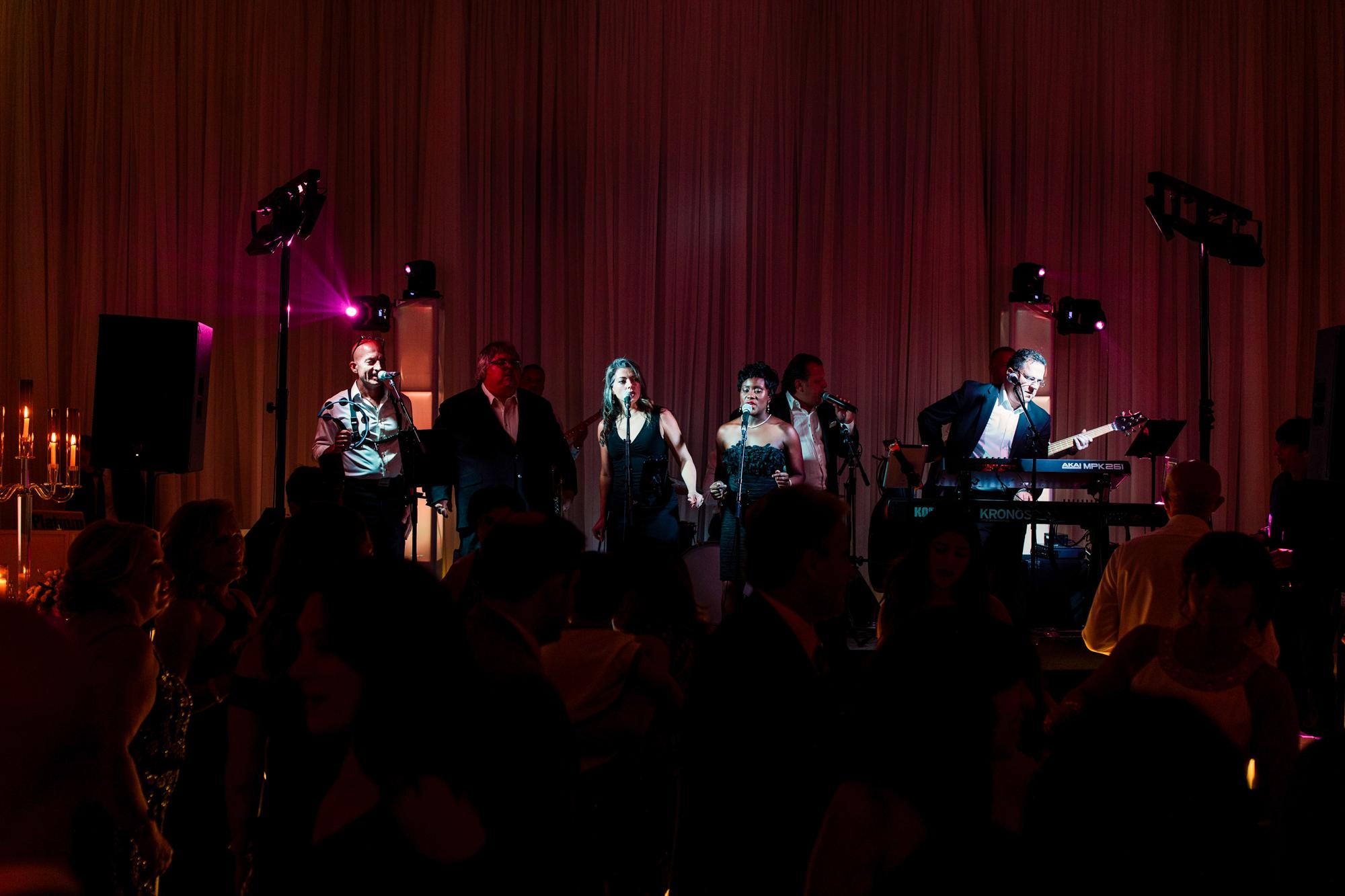 sensation live music wedding
