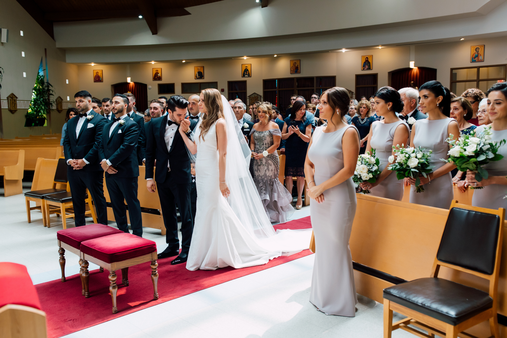 st. david's parish wedding