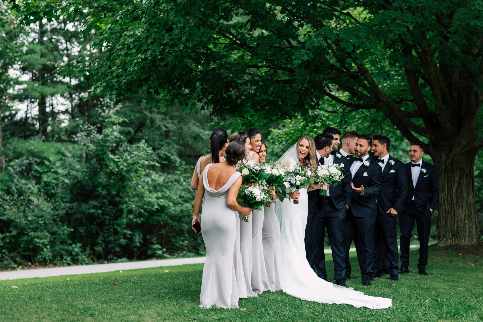 kortright wedding party