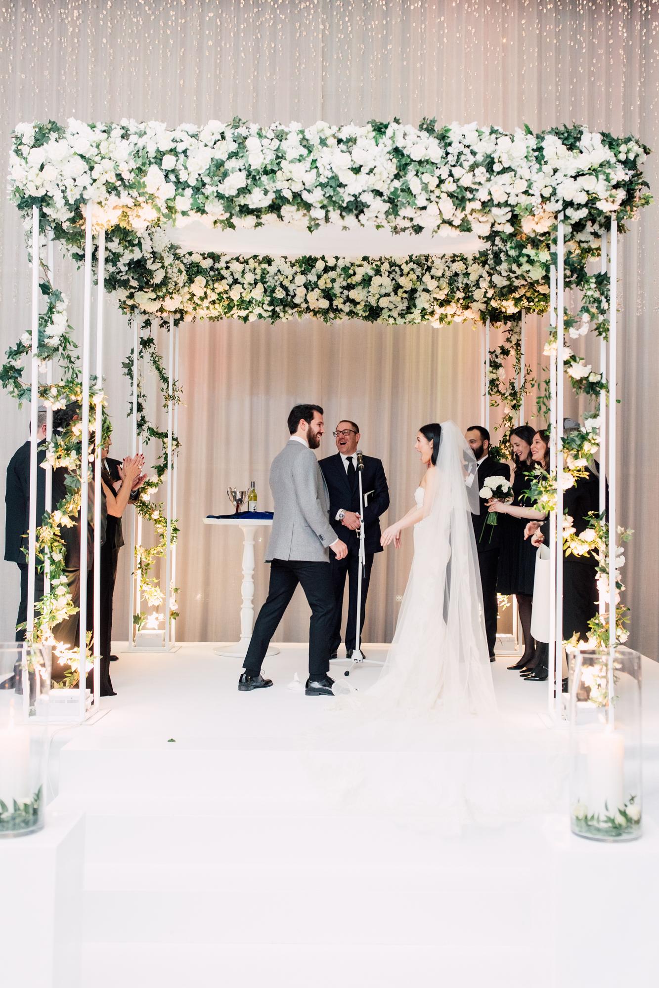 jackie o wedding chuppah