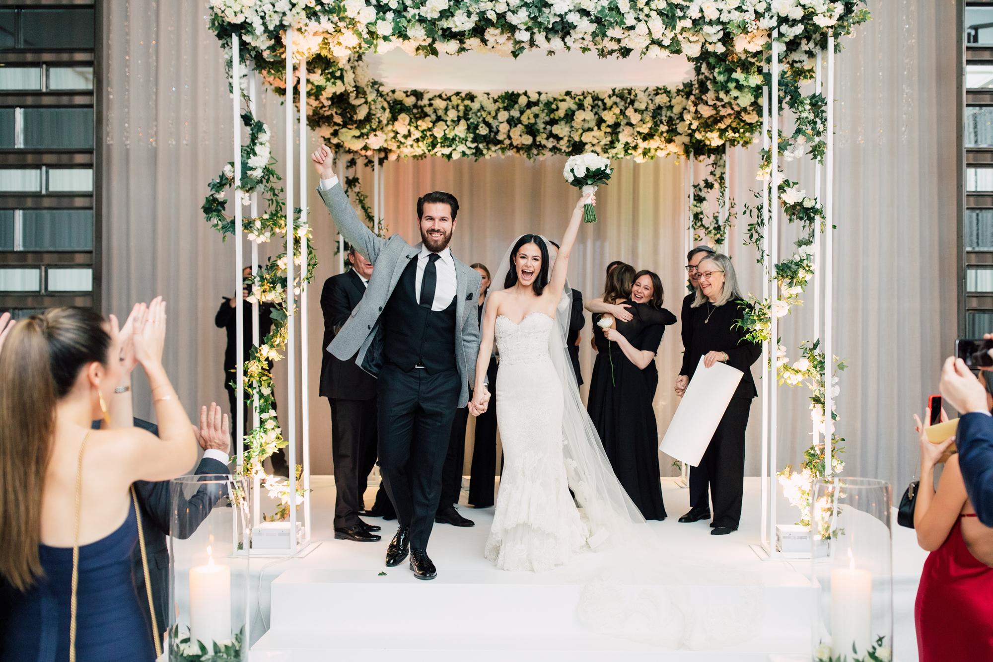 ashley lindzon wedding chuppah