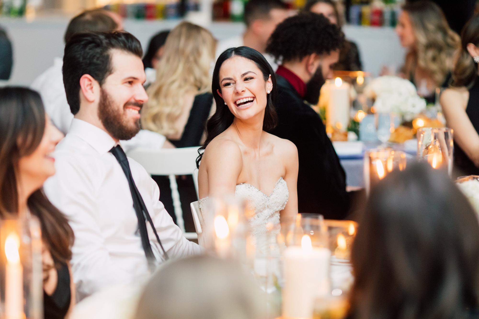 laughing bride speeches
