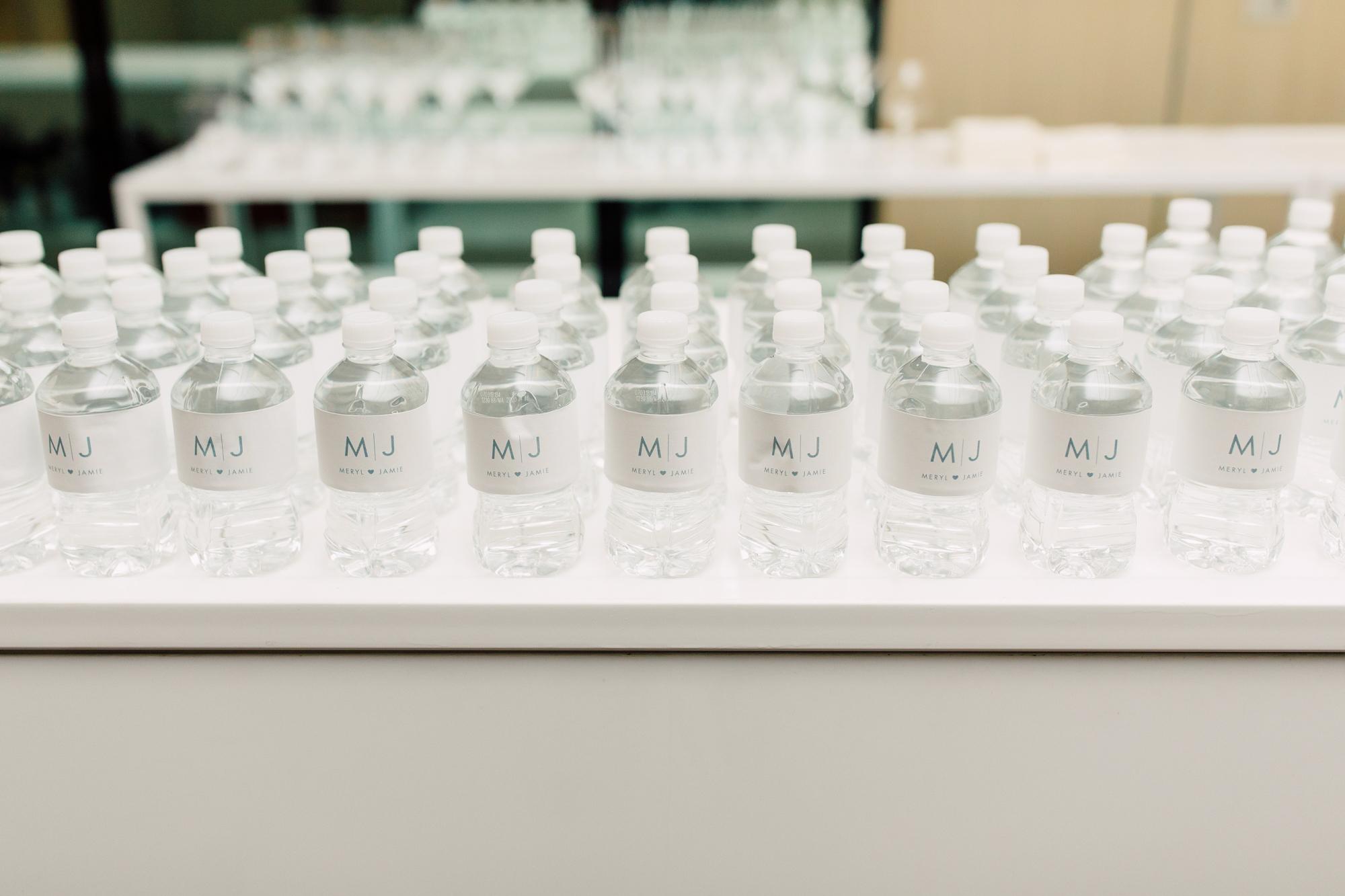 custom water bottles wedding