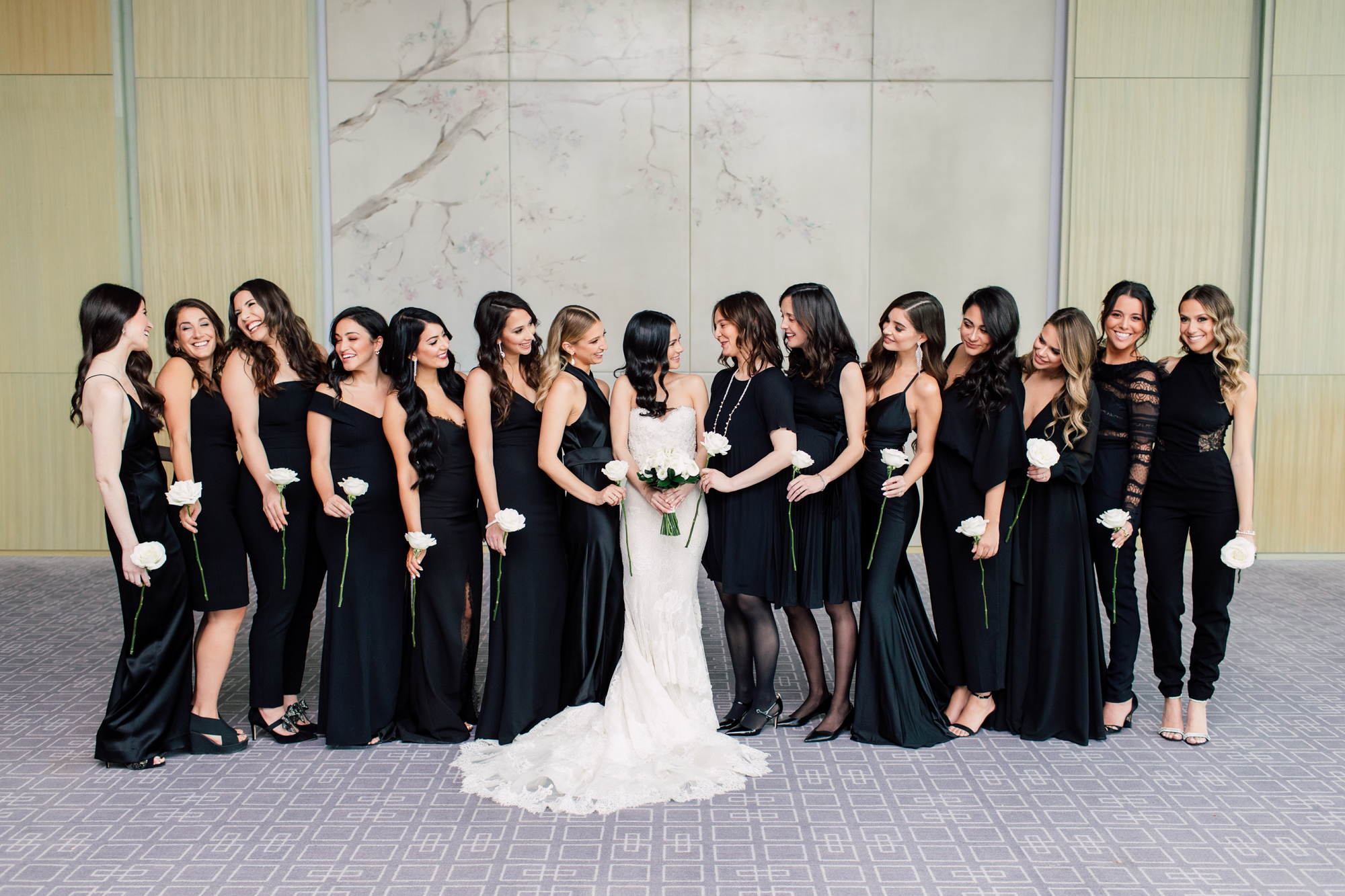 rose bridesmaid