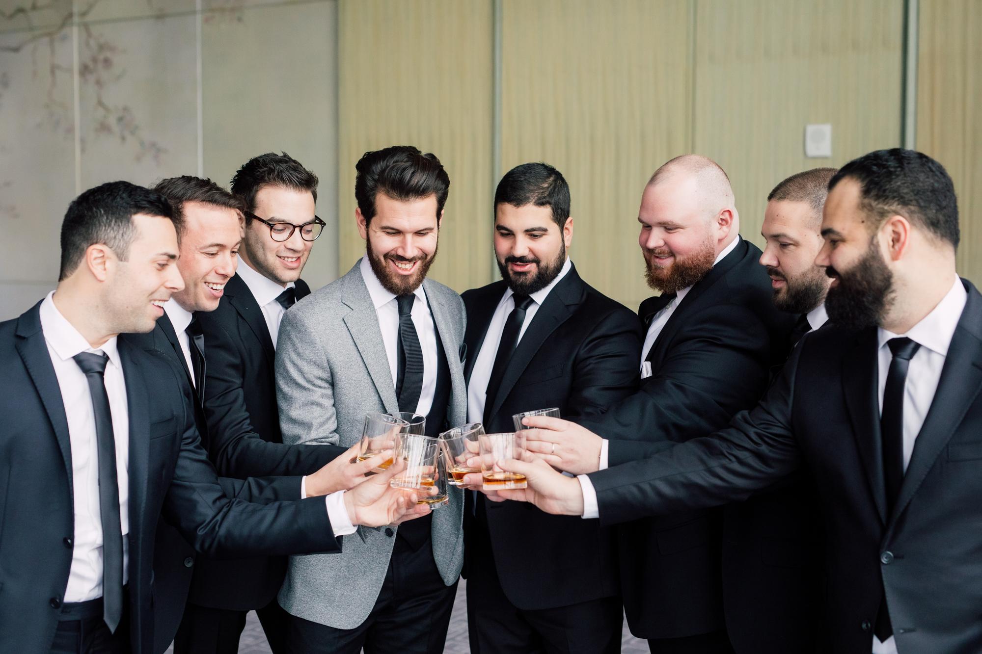 groomsmen shots