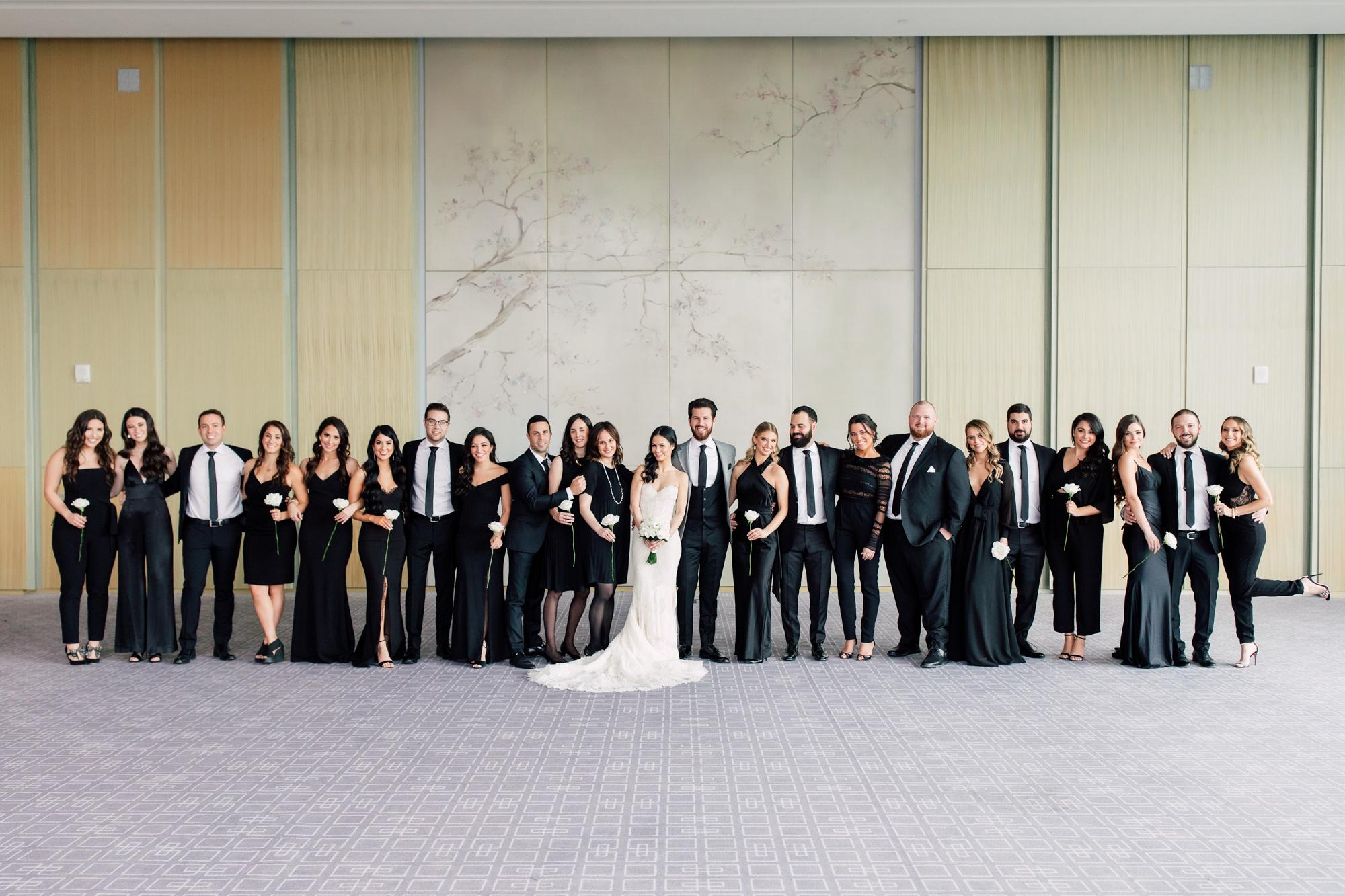 big bridal party