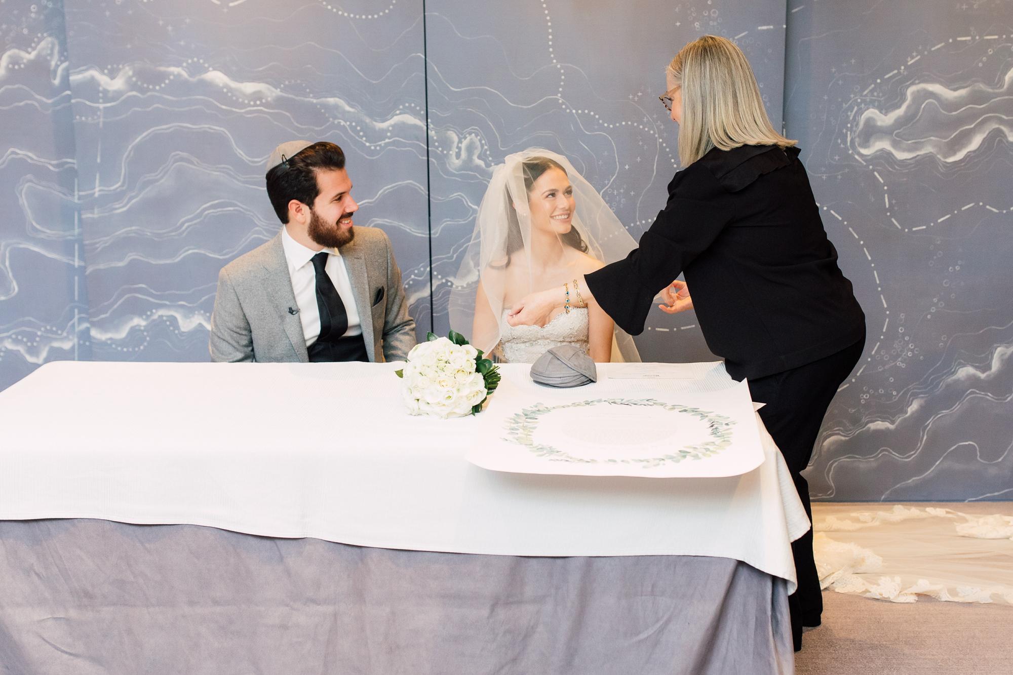 jewish wedding veil