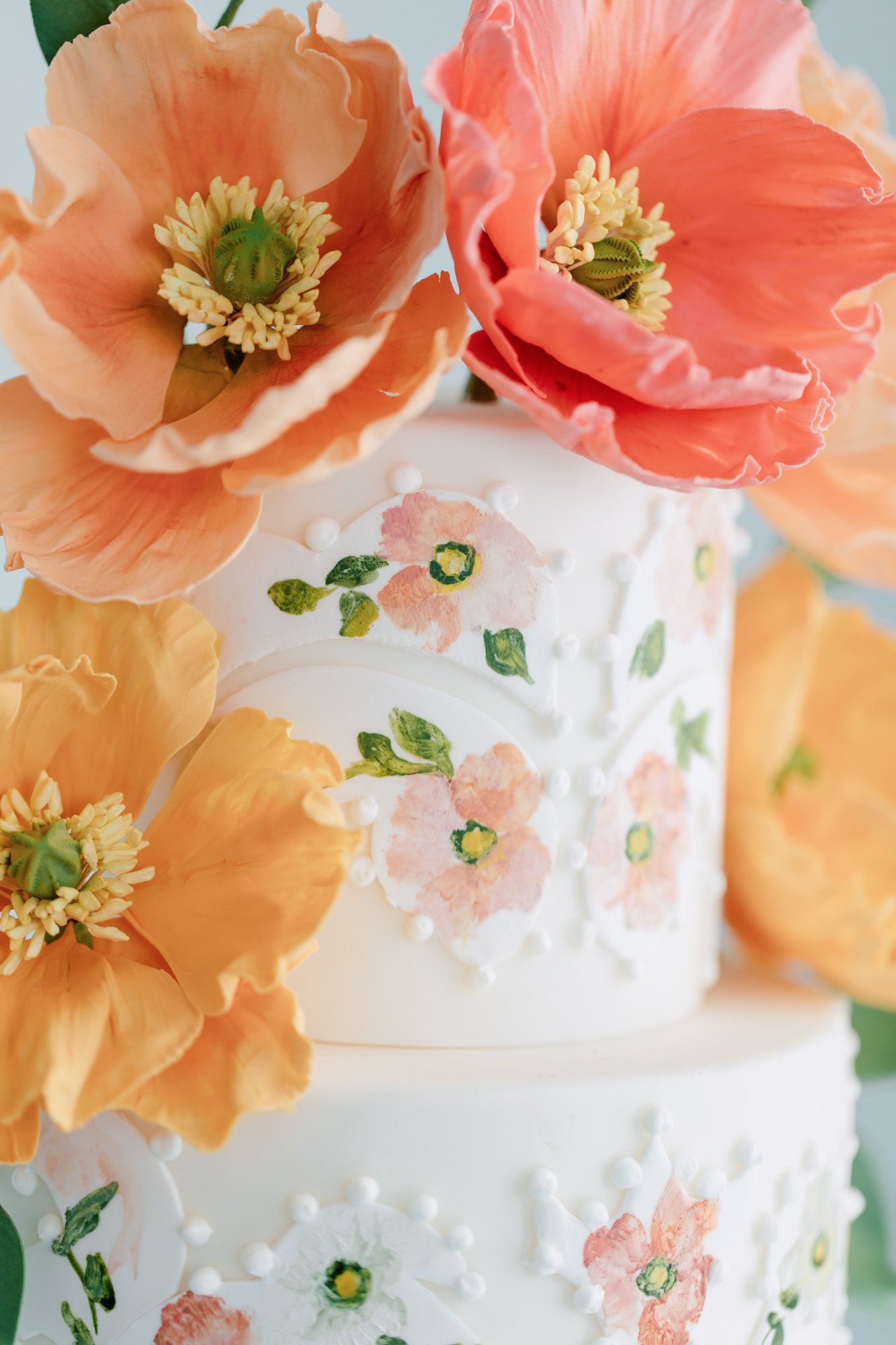 nadia and co floral cake