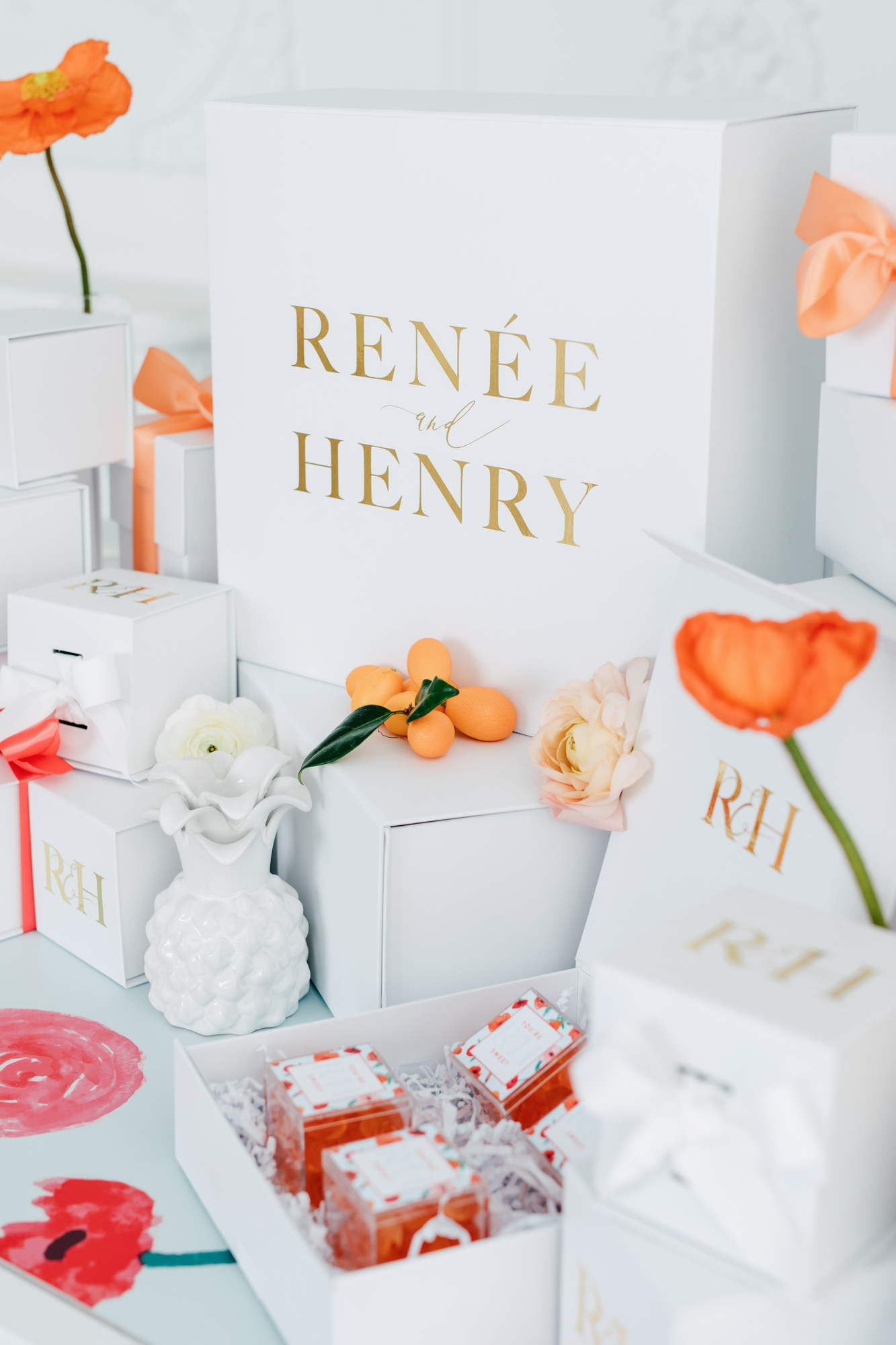whitebox and co wedding box