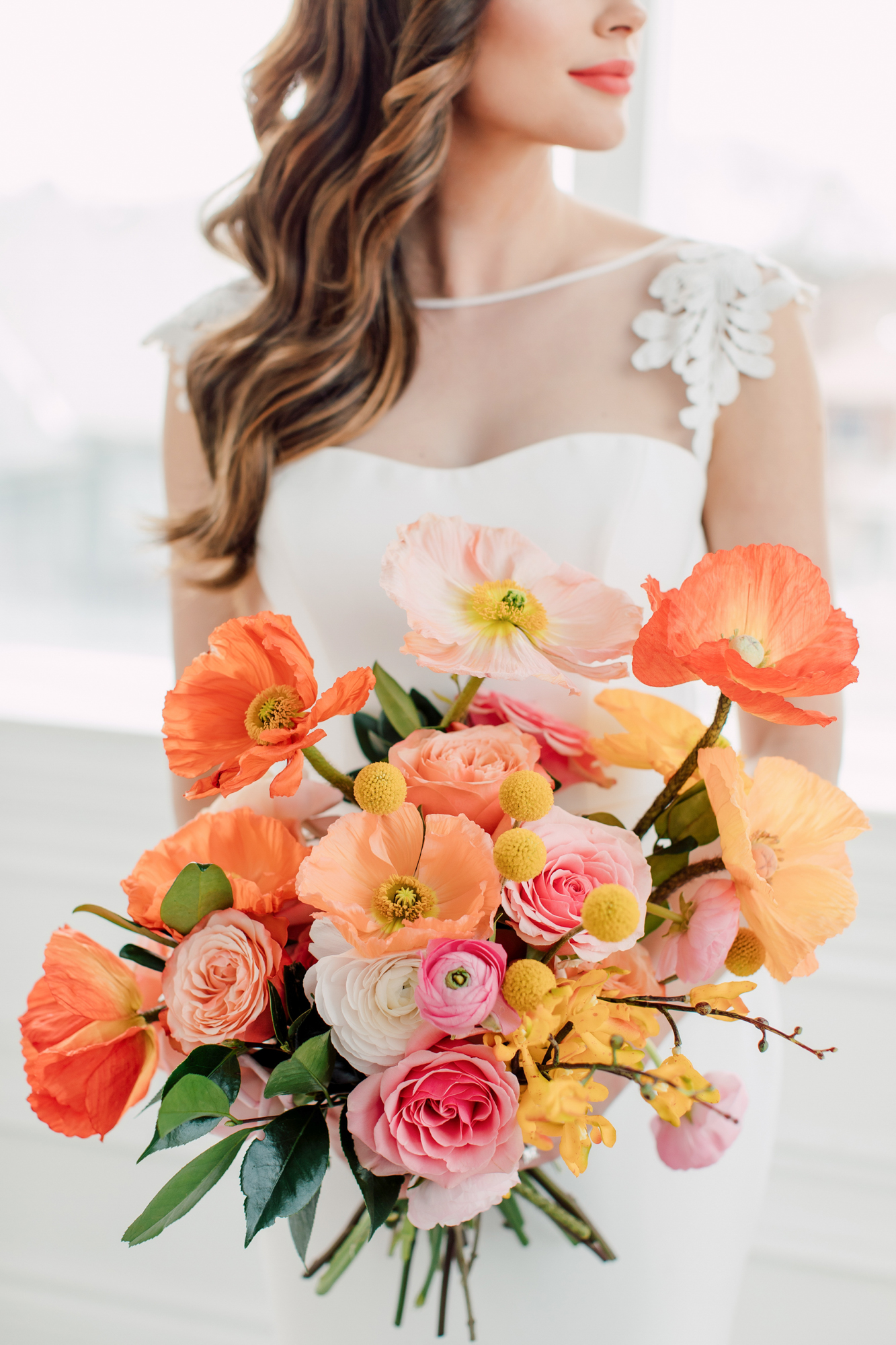 rachel clingen bridal bouquet