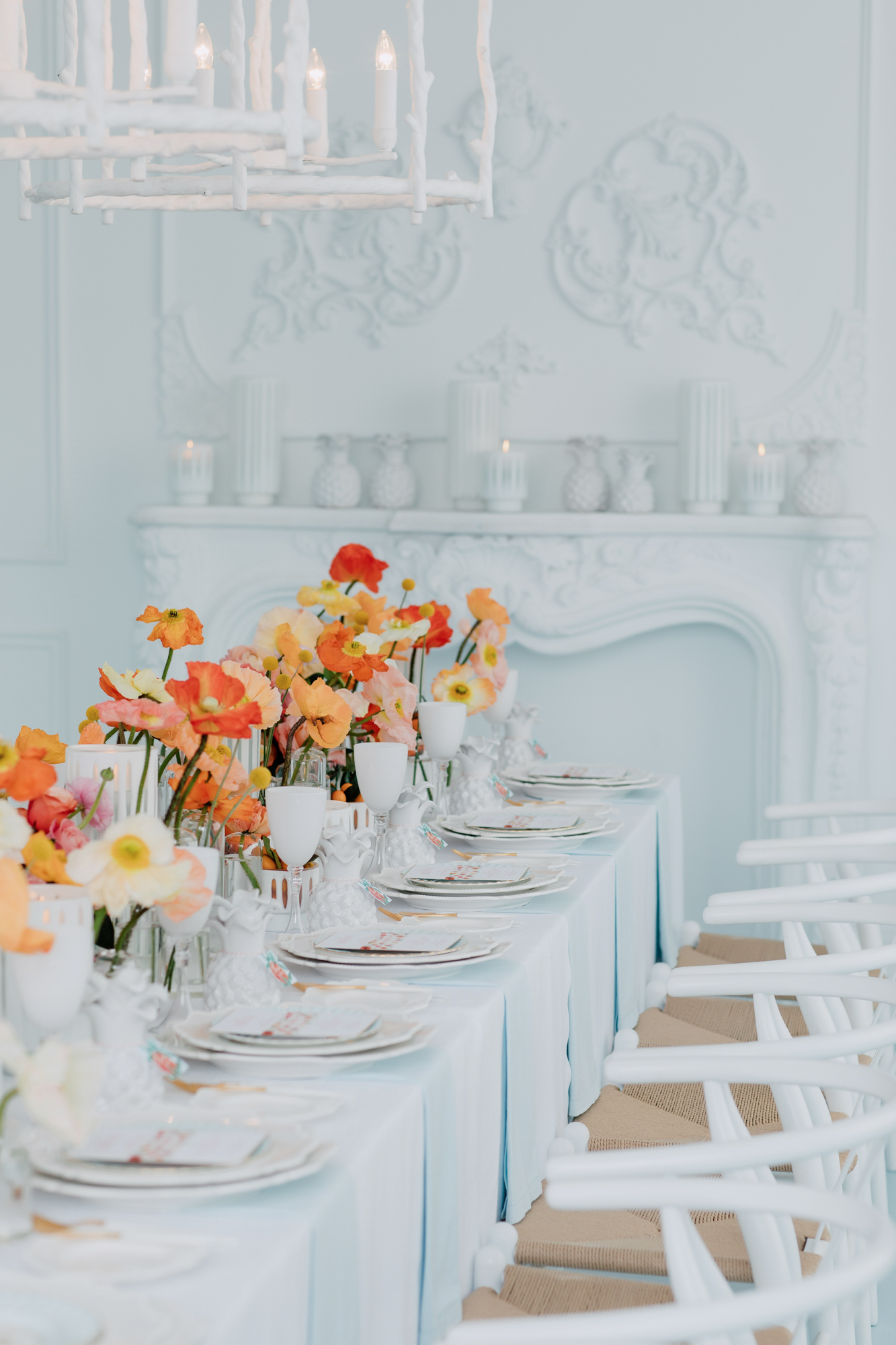 rachel clingen poppies wedding