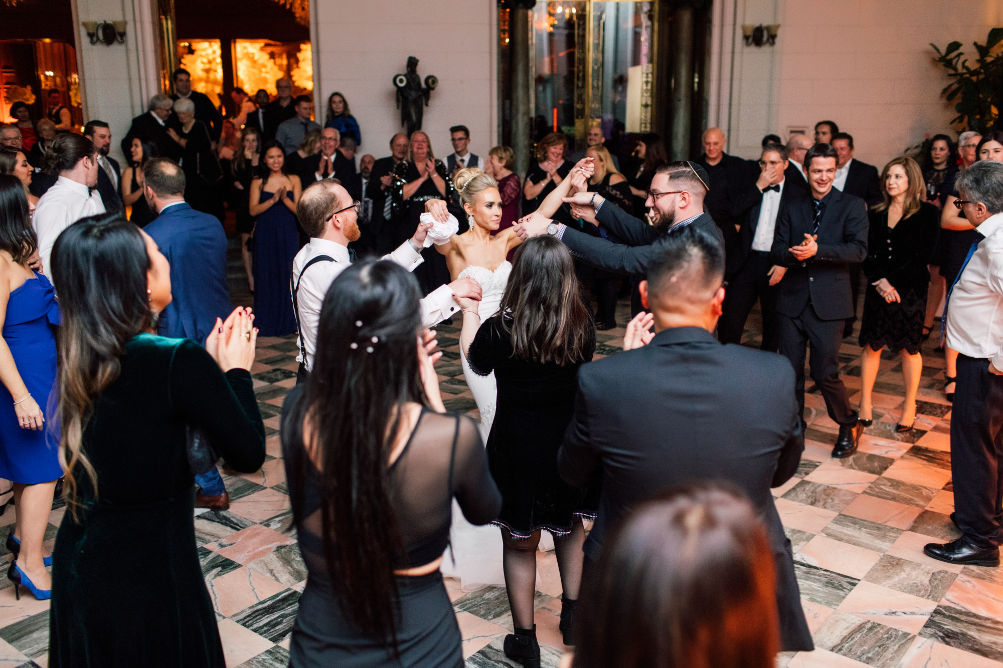 casa loma dancing reception