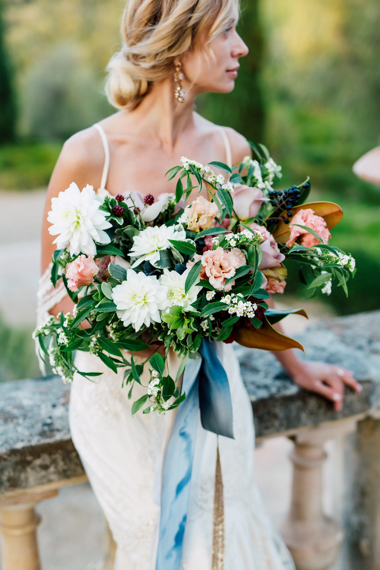 tulipano bridal bouquet