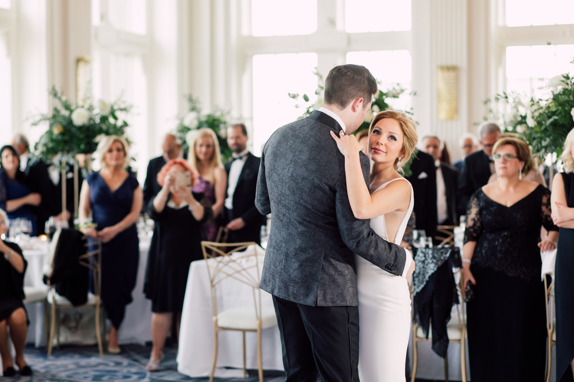 elegant first dance