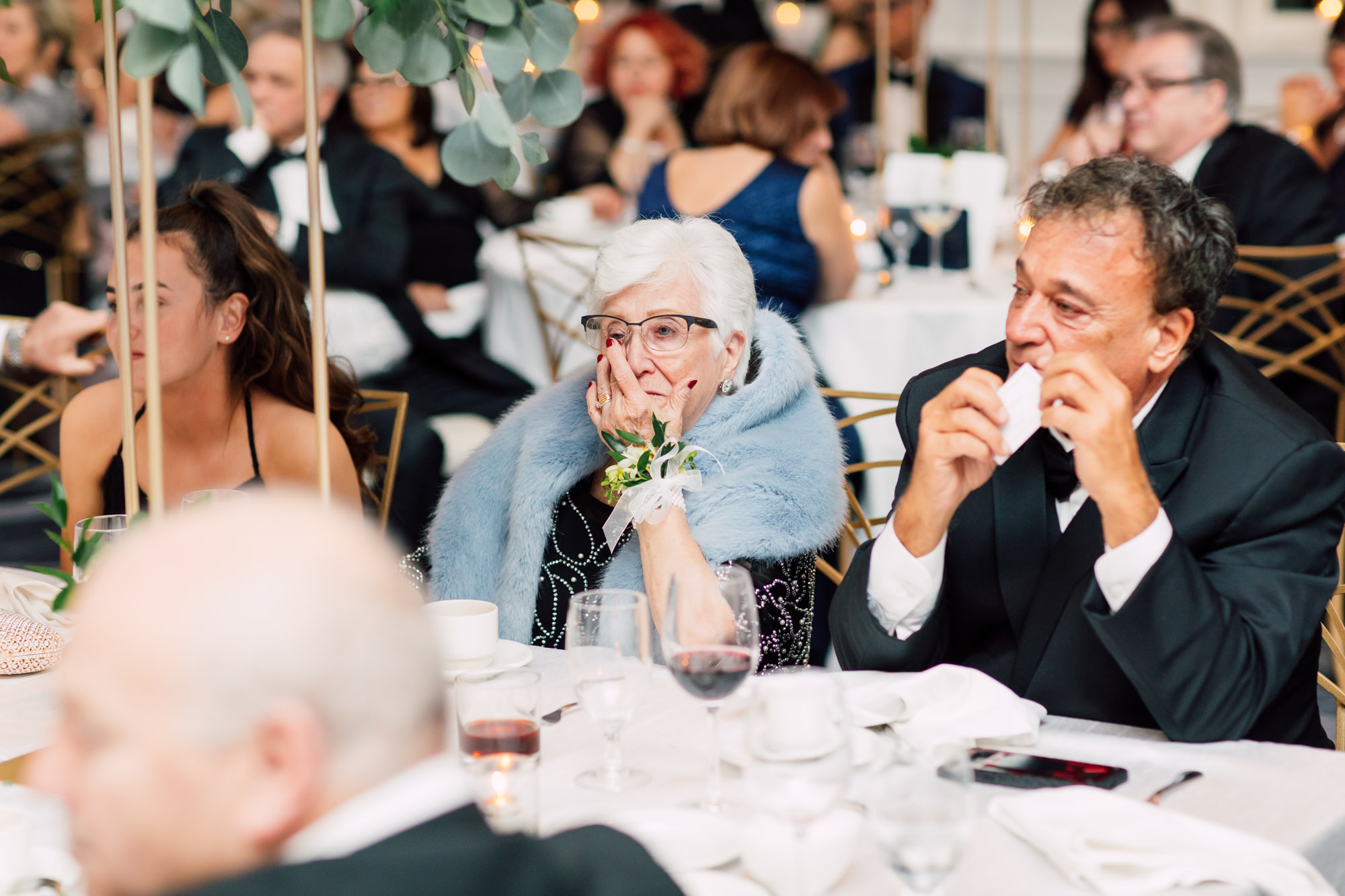 grandmother wedding emotional