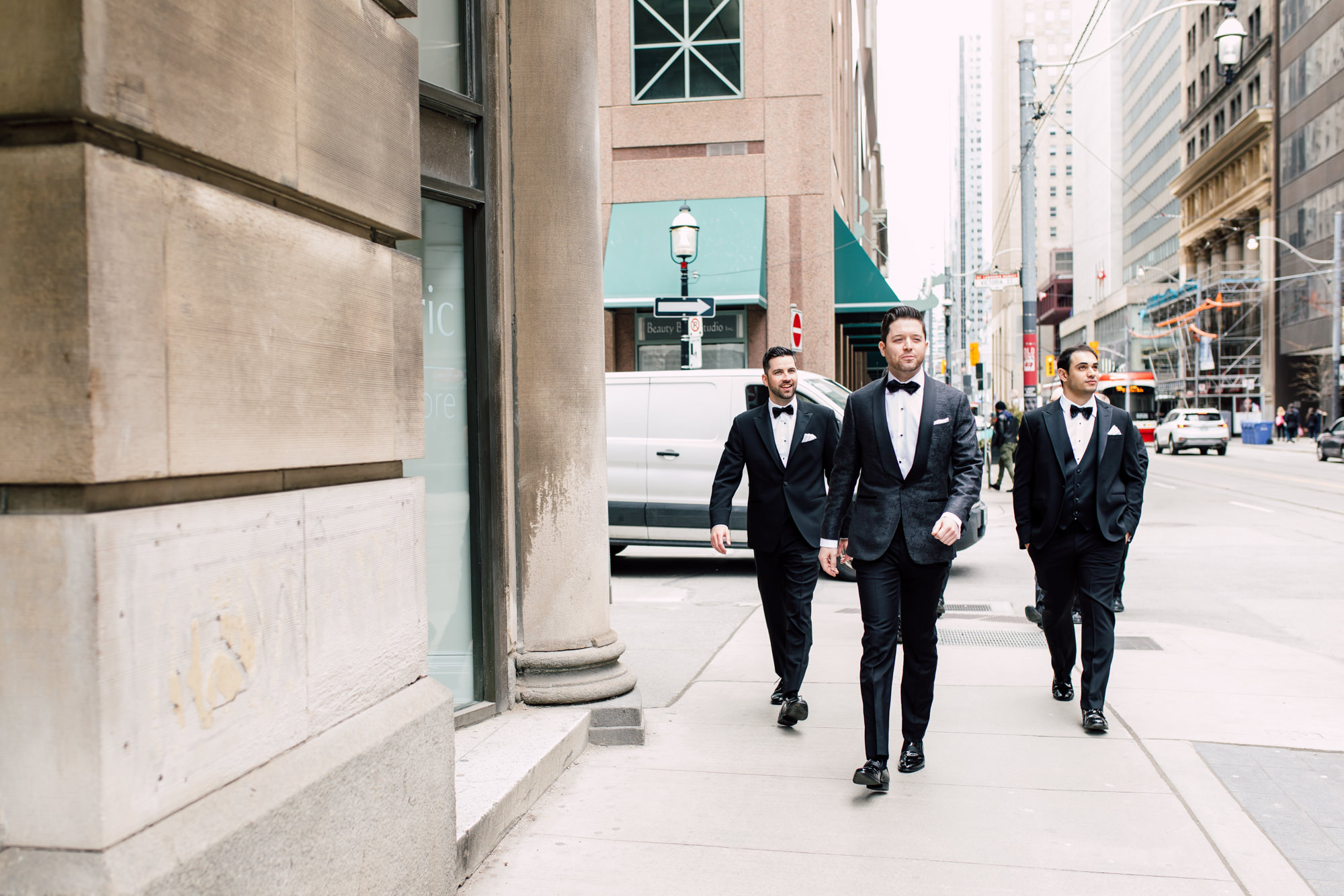groomsmen downtown toronto